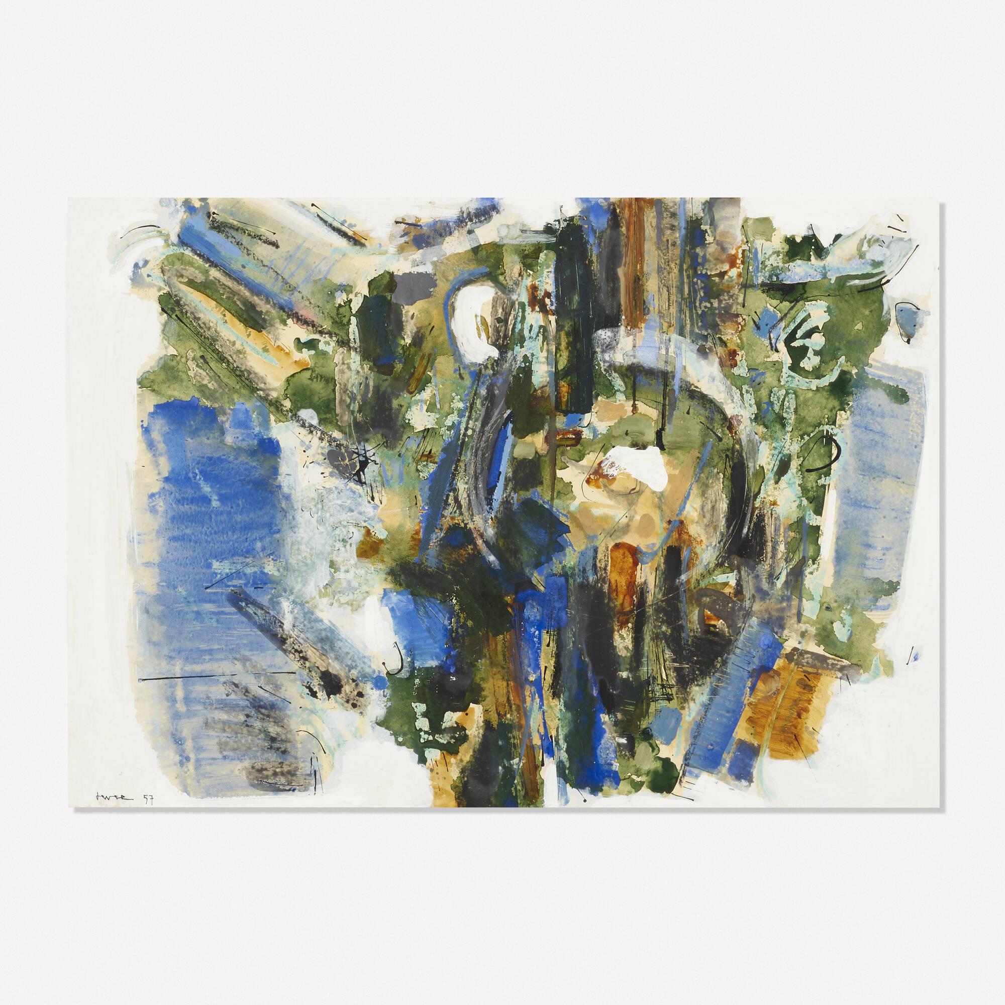 165: John Harrison Levee / Gouache Number XVII (1 of 1)