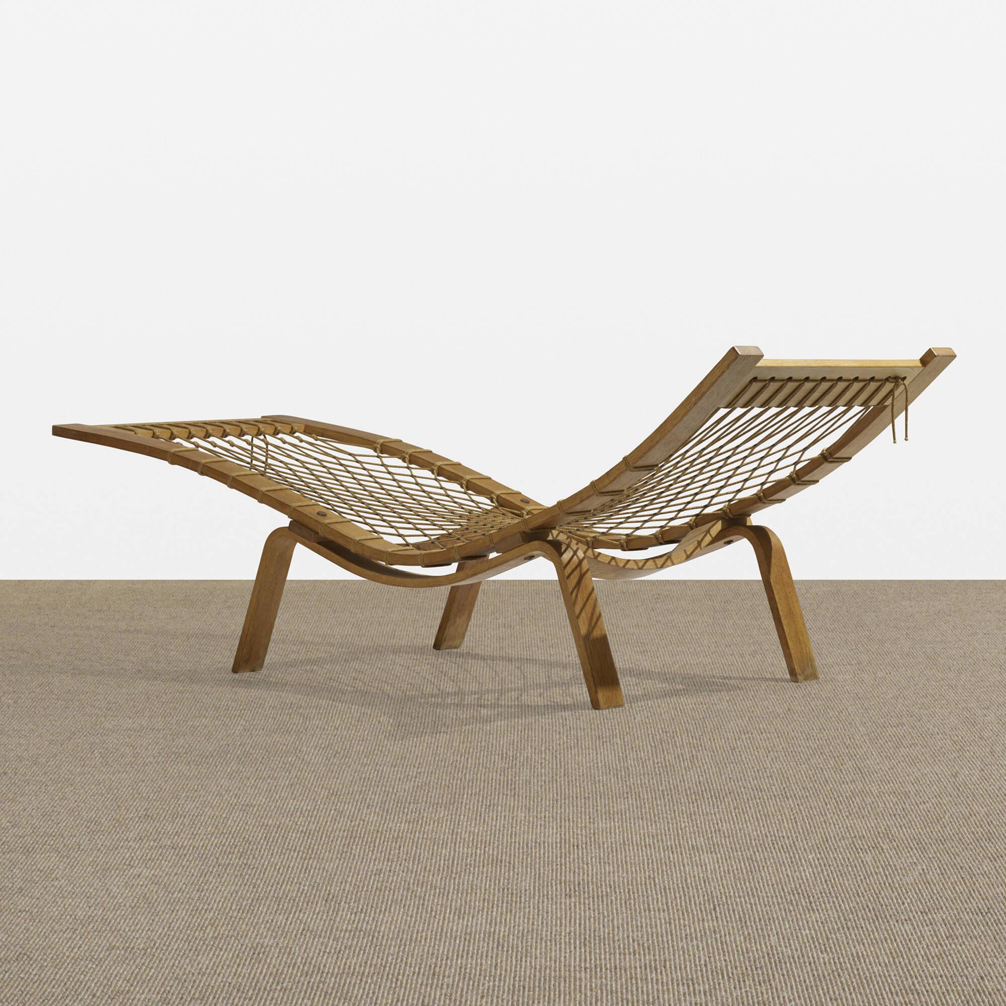 165: Hans J. Wegner / Hammock chaise (1 of 5)