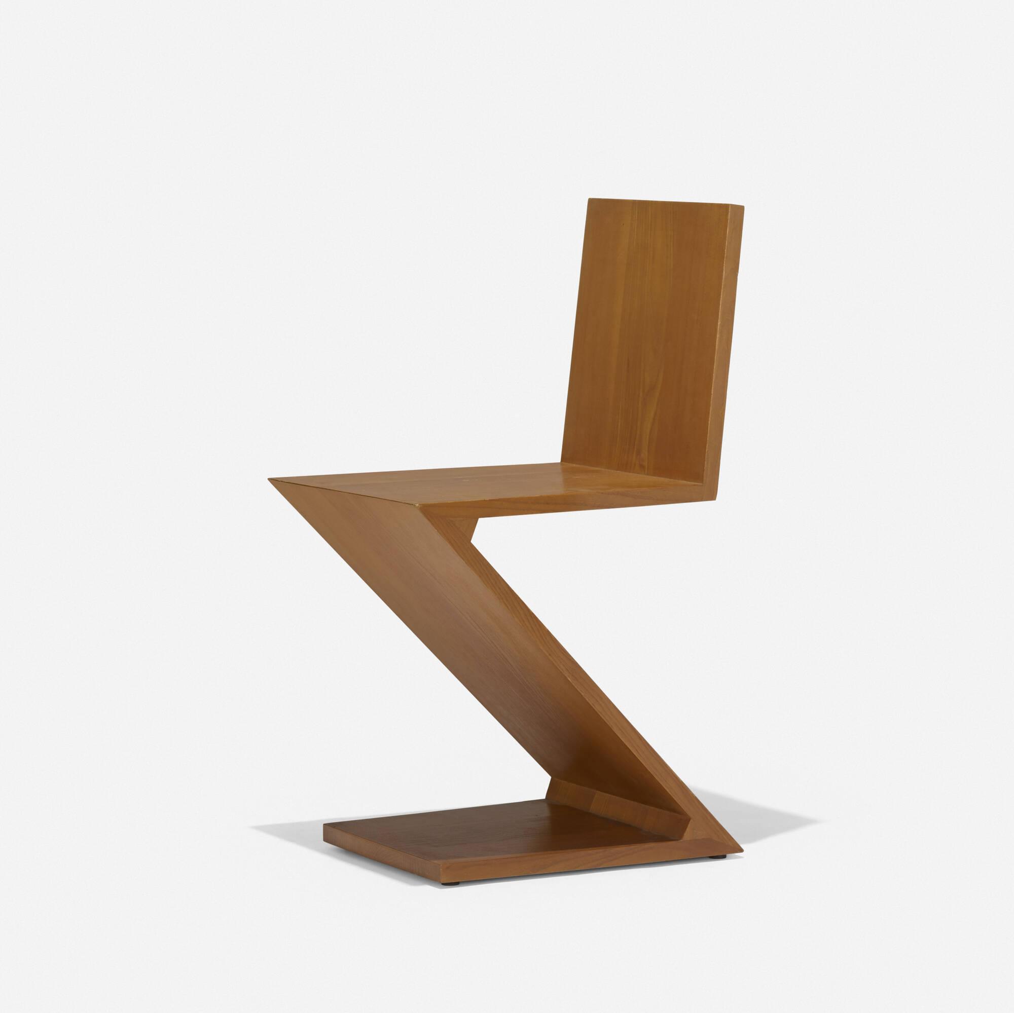 165: Gerrit Rietveld / Zig Zag chair (1 of 2)