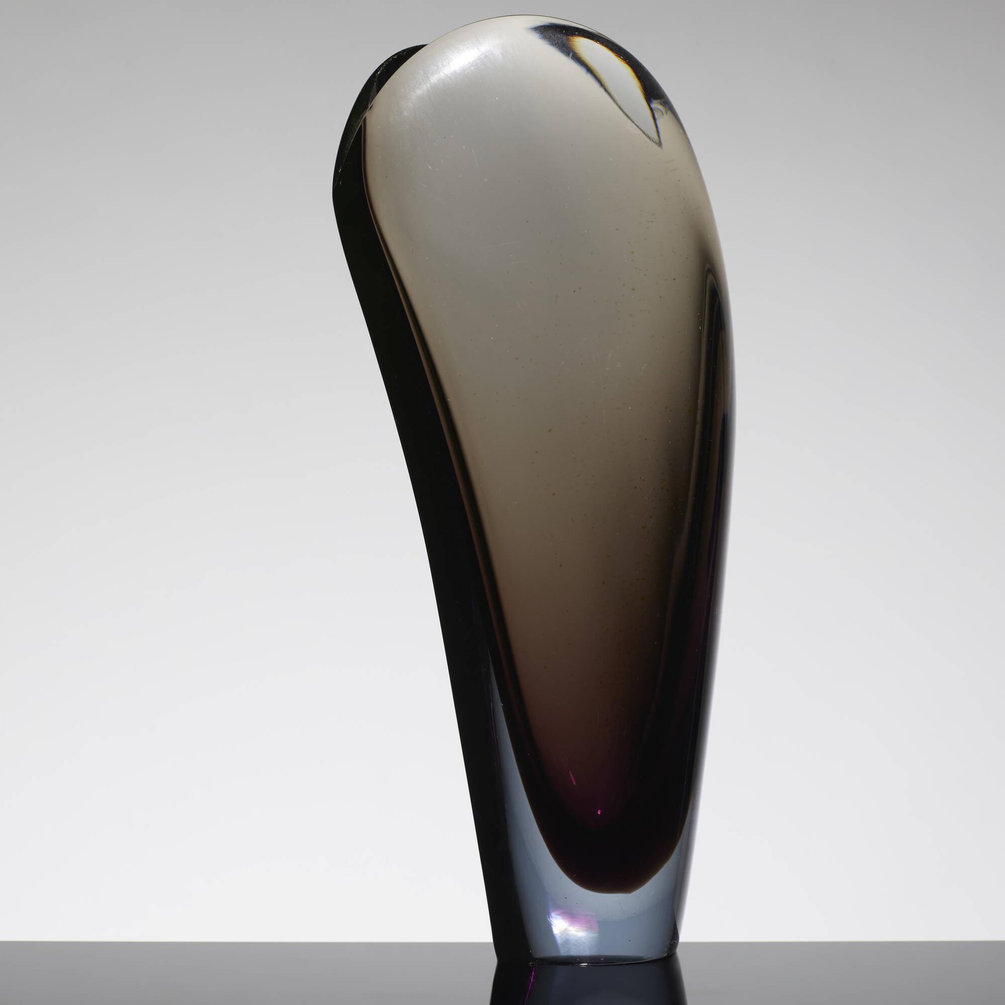 165: Flavio Poli / Valva vase, model 11485 (2 of 2)