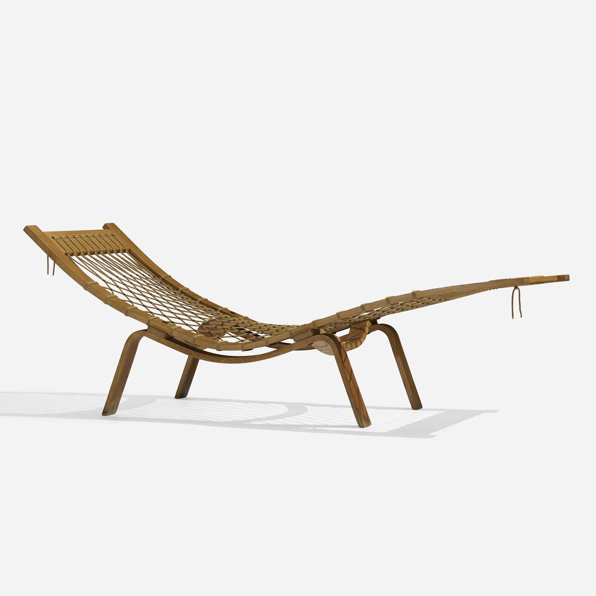165: Hans J. Wegner / Hammock chaise (2 of 5)