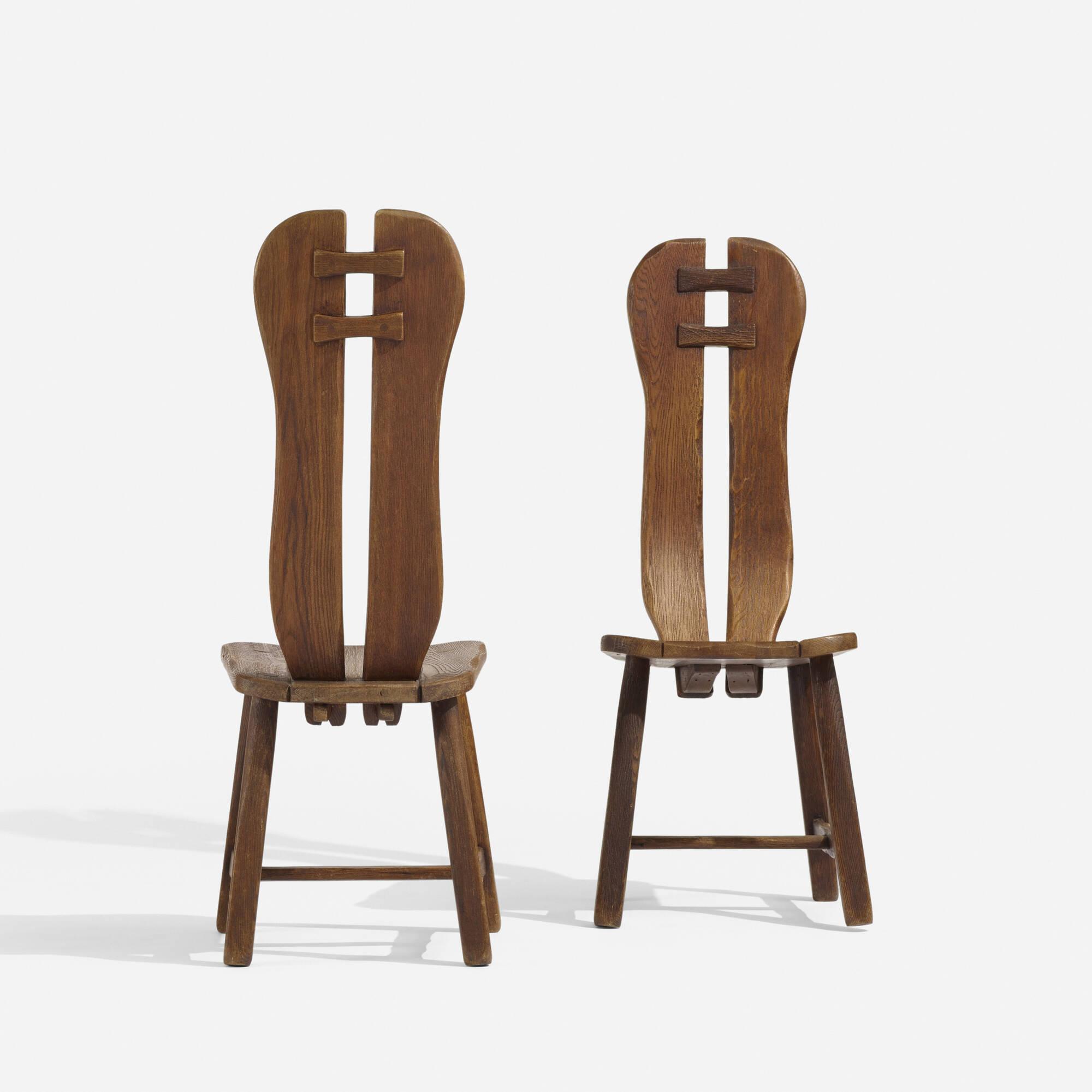 165: Swedish / chairs, pair (2 of 3)