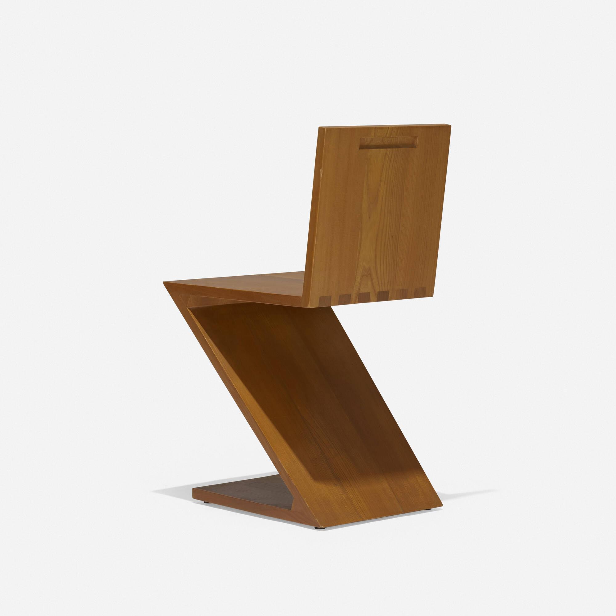 165: Gerrit Rietveld / Zig Zag chair (2 of 2)
