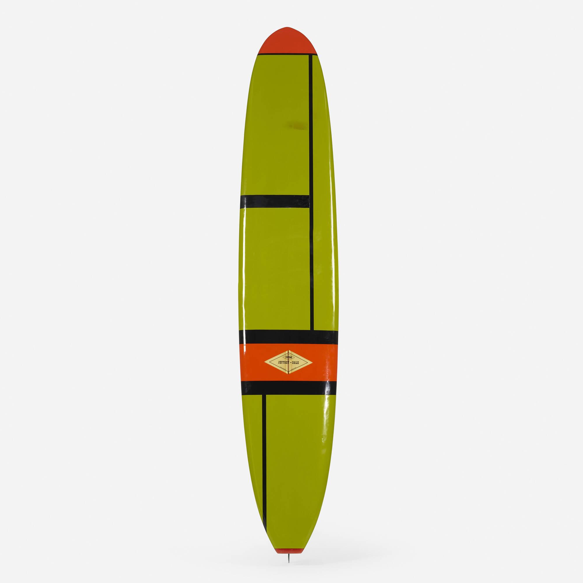 166: JEFFREY-DALE SURFBOARDS, custom surfboard < Art +