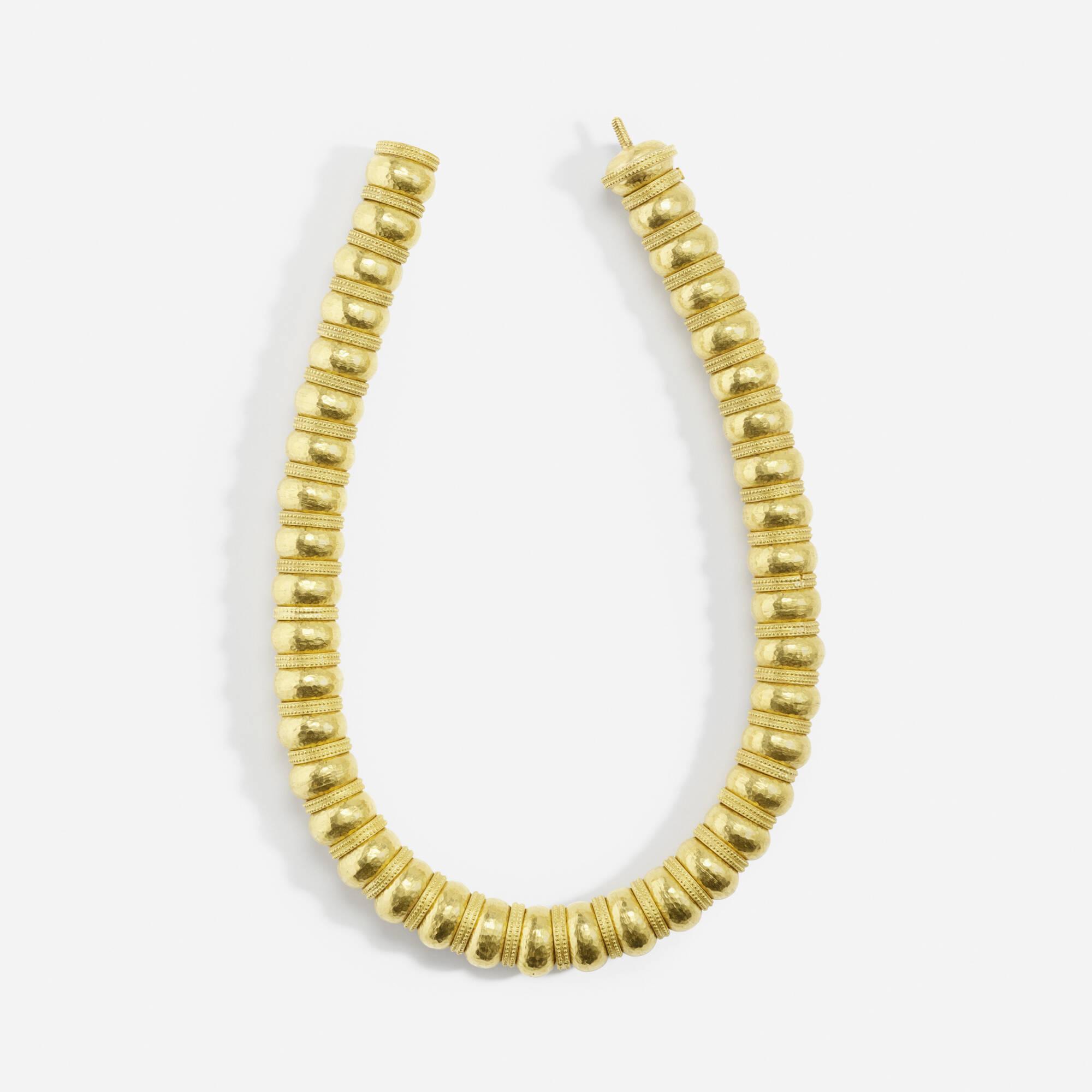 166: LALAOUNIS, A gold necklace < Jewels, 21 April 2016 < Auctions ...