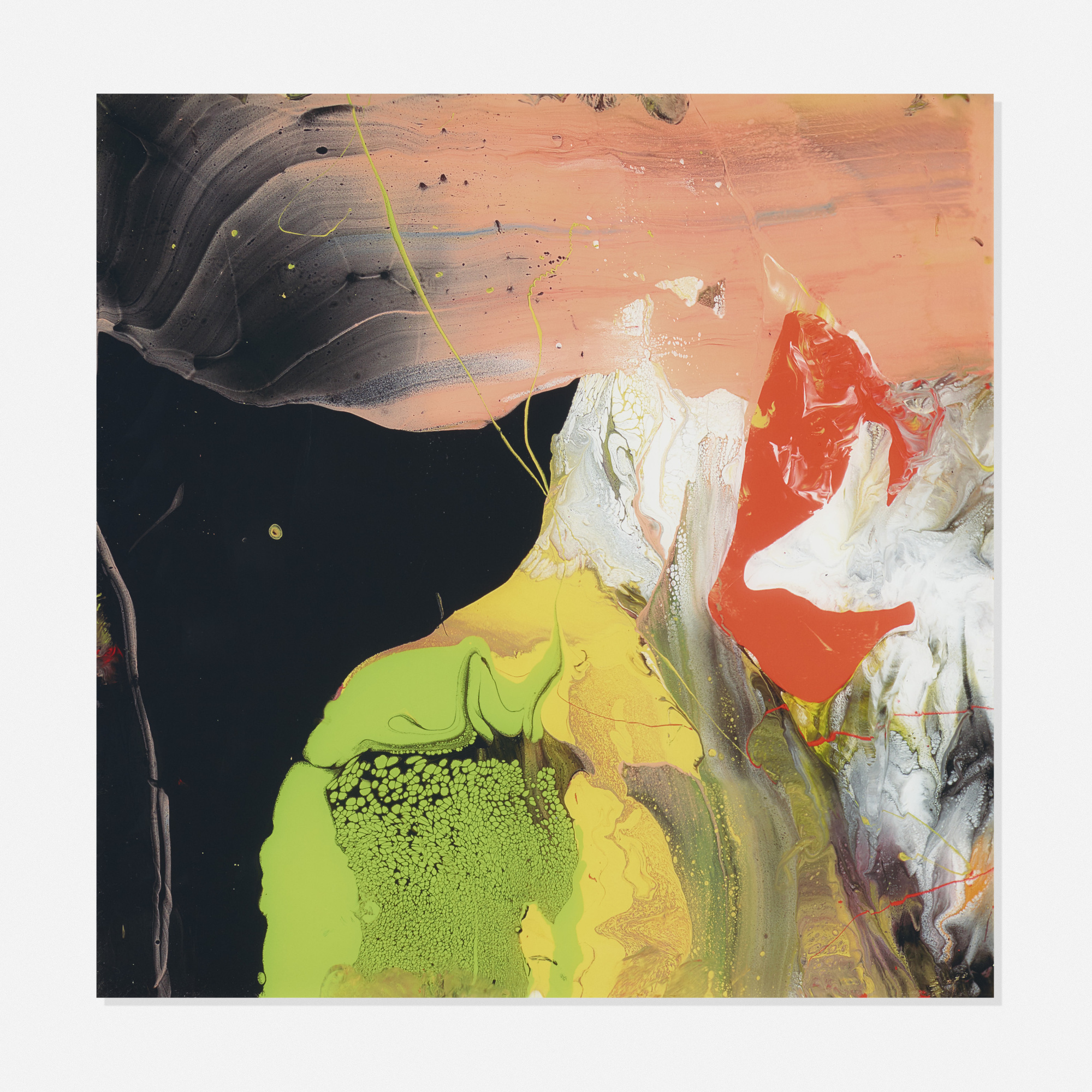 166: Gerhard Richter / Flow (P6) (1 of 2)