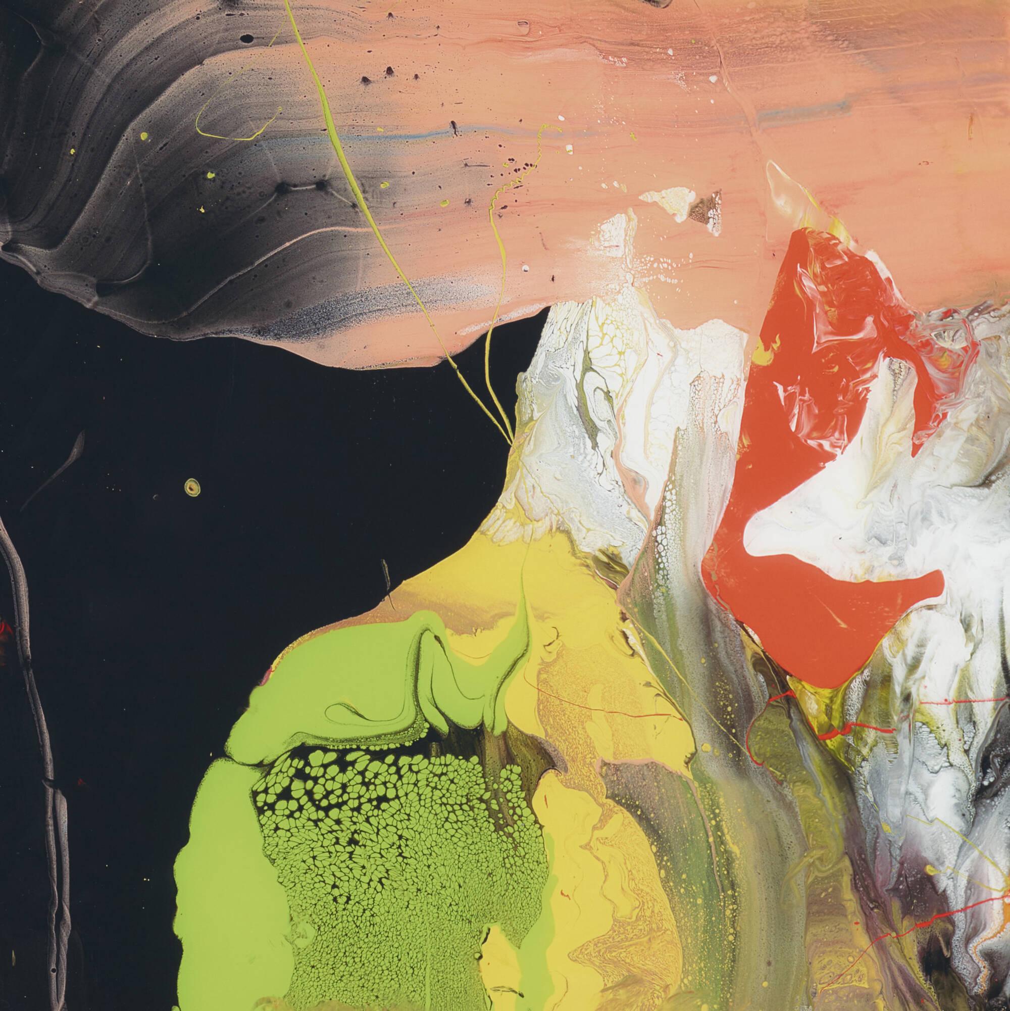166: Gerhard Richter / Flow (P6) (2 of 2)
