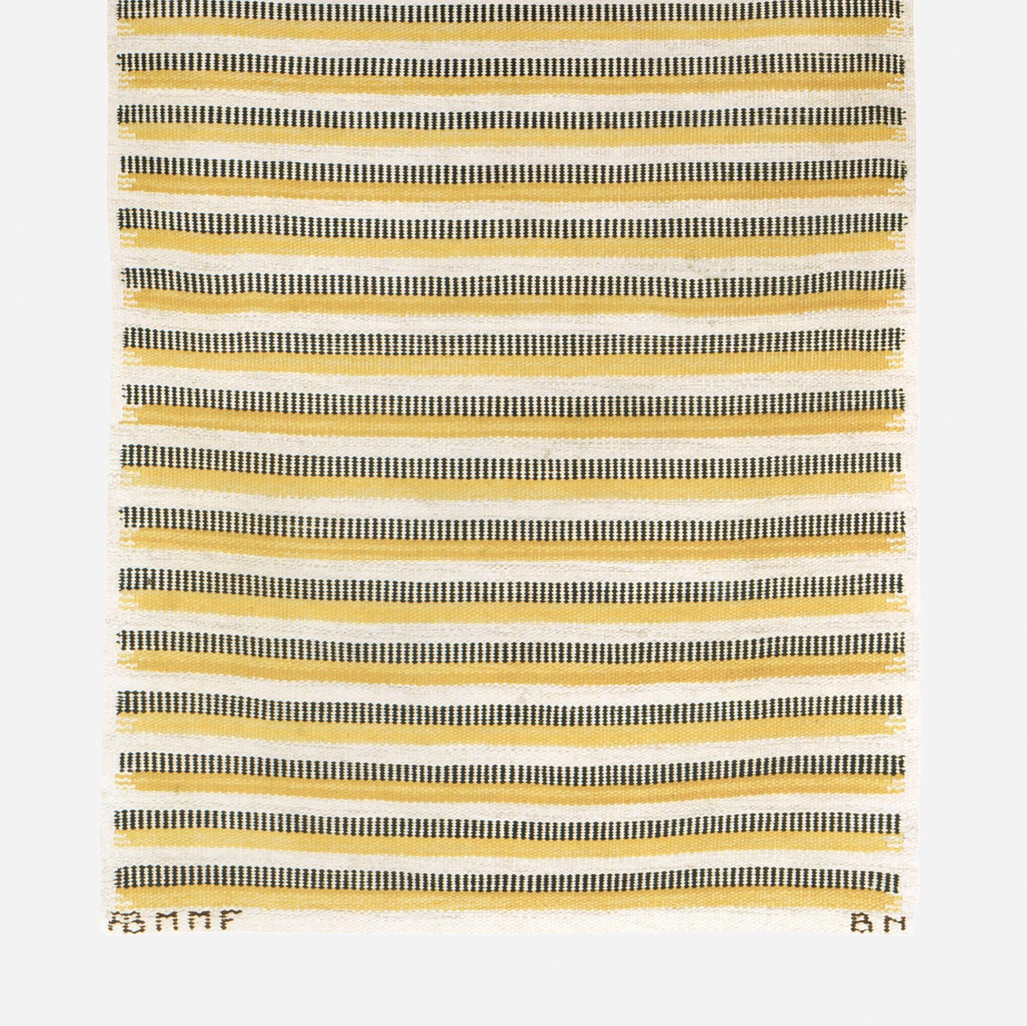 166: Barbro Nilsson / Randig Med Tvist flatweave carpet (2 of 2)