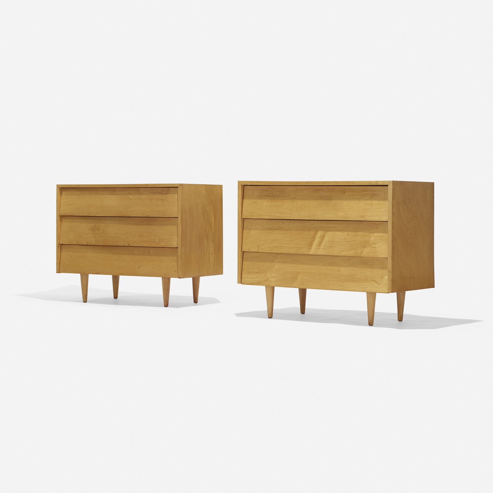 167: Florence Knoll / cabinets, pair (1 of 2)