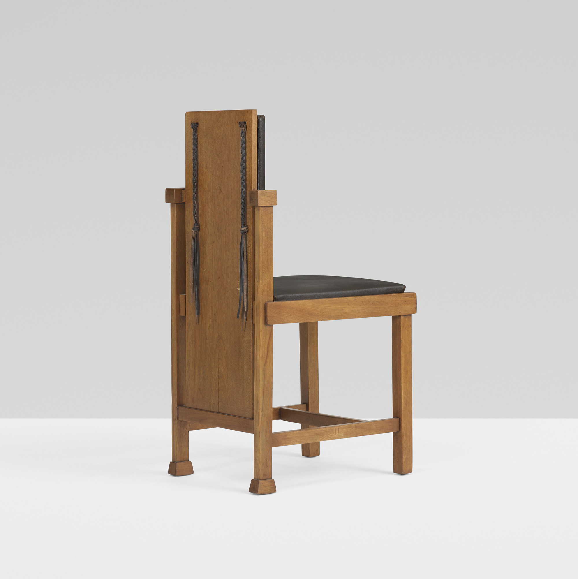 167 Frank Lloyd Wright Chair From The Avery Ley Playhouse Riverside Illinois