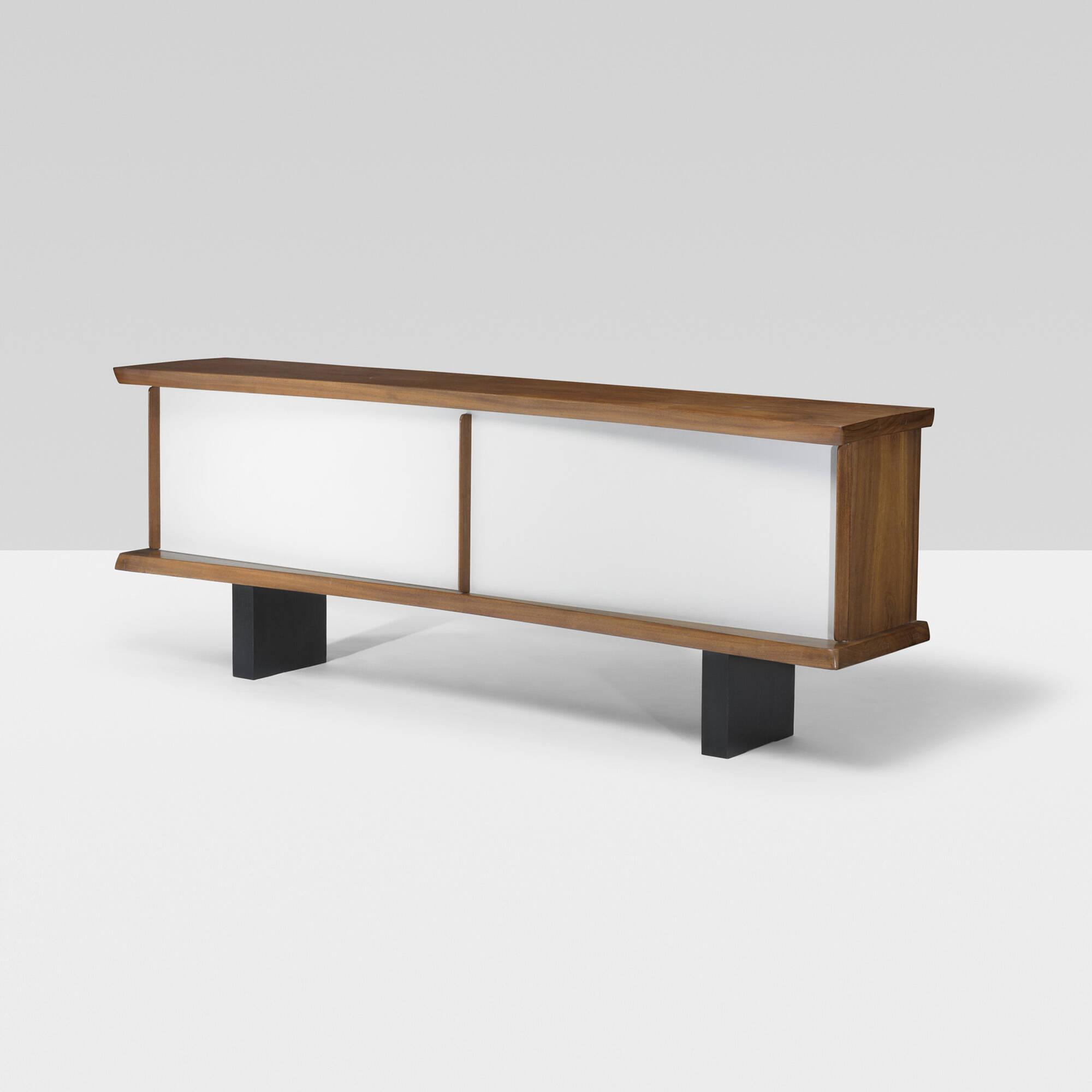167 charlotte perriand rare bahut. Black Bedroom Furniture Sets. Home Design Ideas