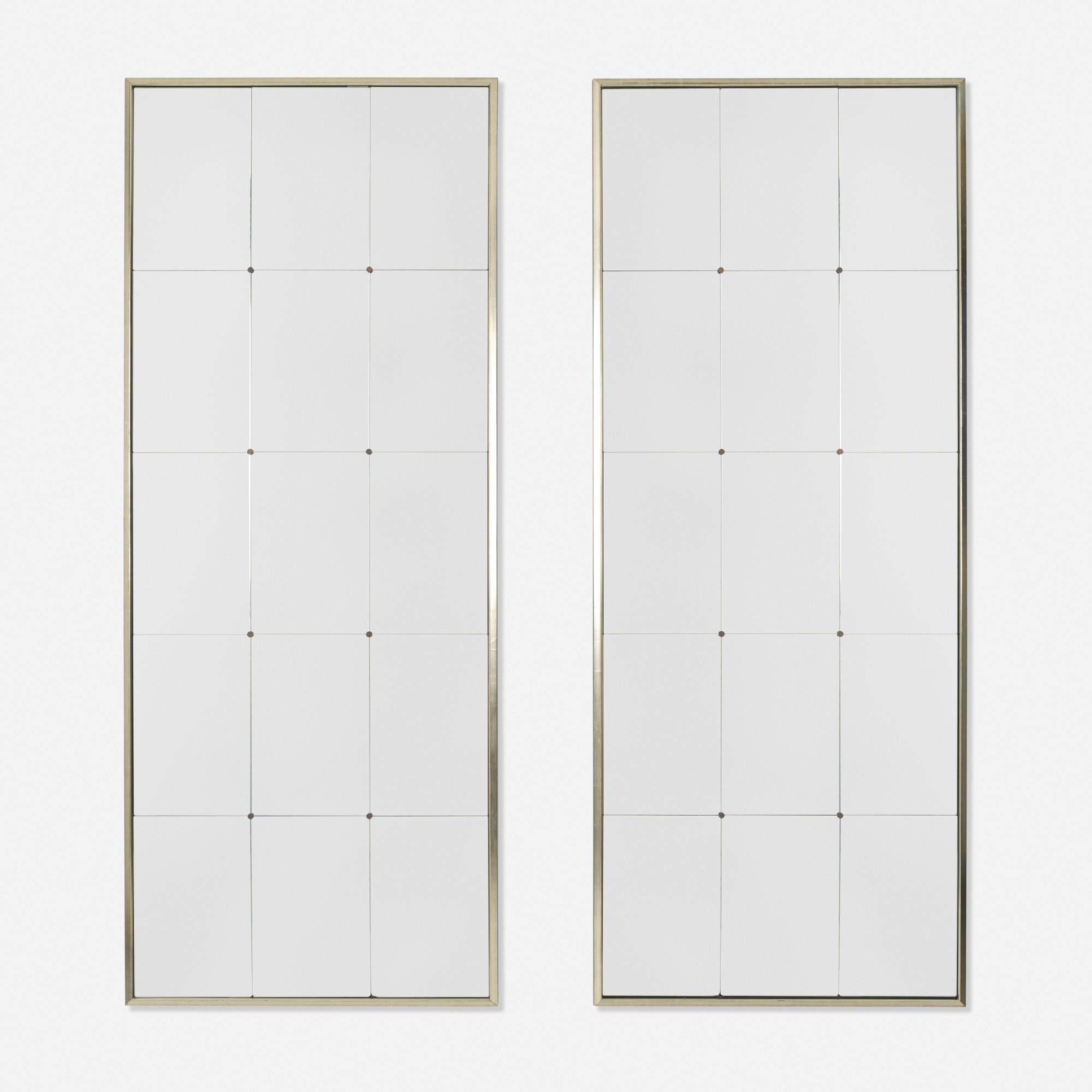 168: George Larson / mirrors, pair (1 of 1)