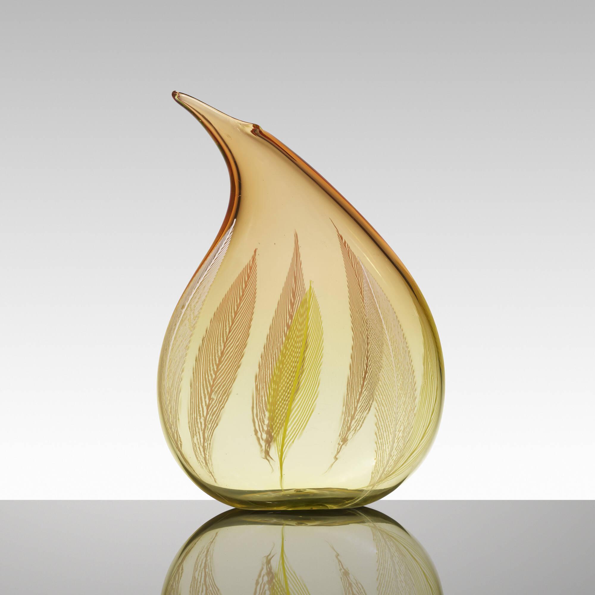 168: Archimede Seguso / A Piume vase (1 of 3)