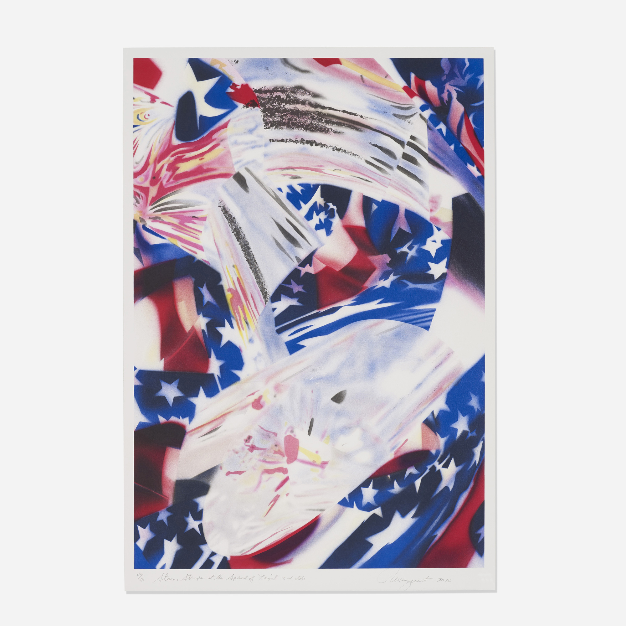 168: James Rosenquist / Stars and Stripes at the Speed of Light (1 of 3)