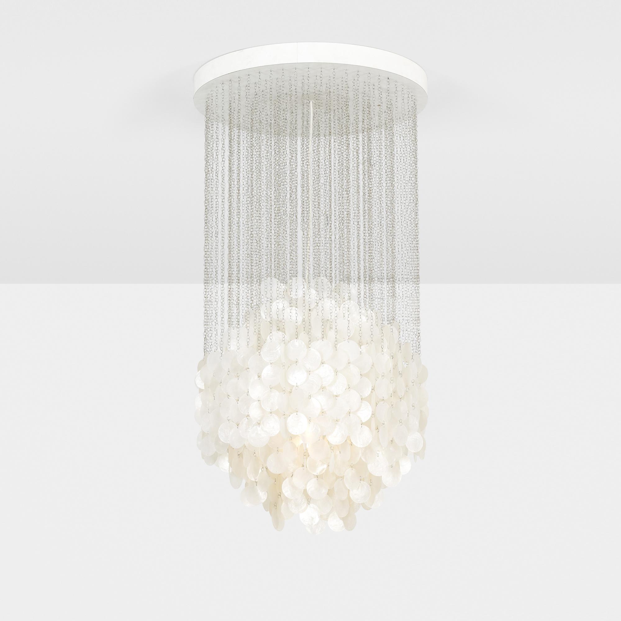 168: Verner Panton / Fun 4 DM hanging lamp (1 of 2)