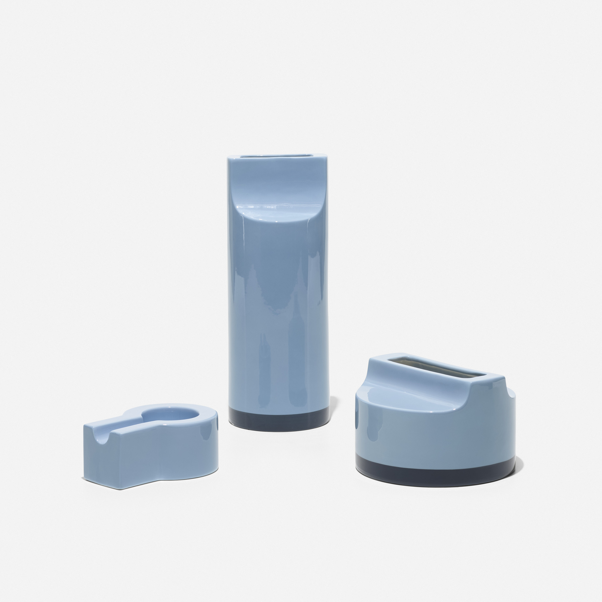 168: Ettore Sottsass / collection of three vessels (1 of 2)
