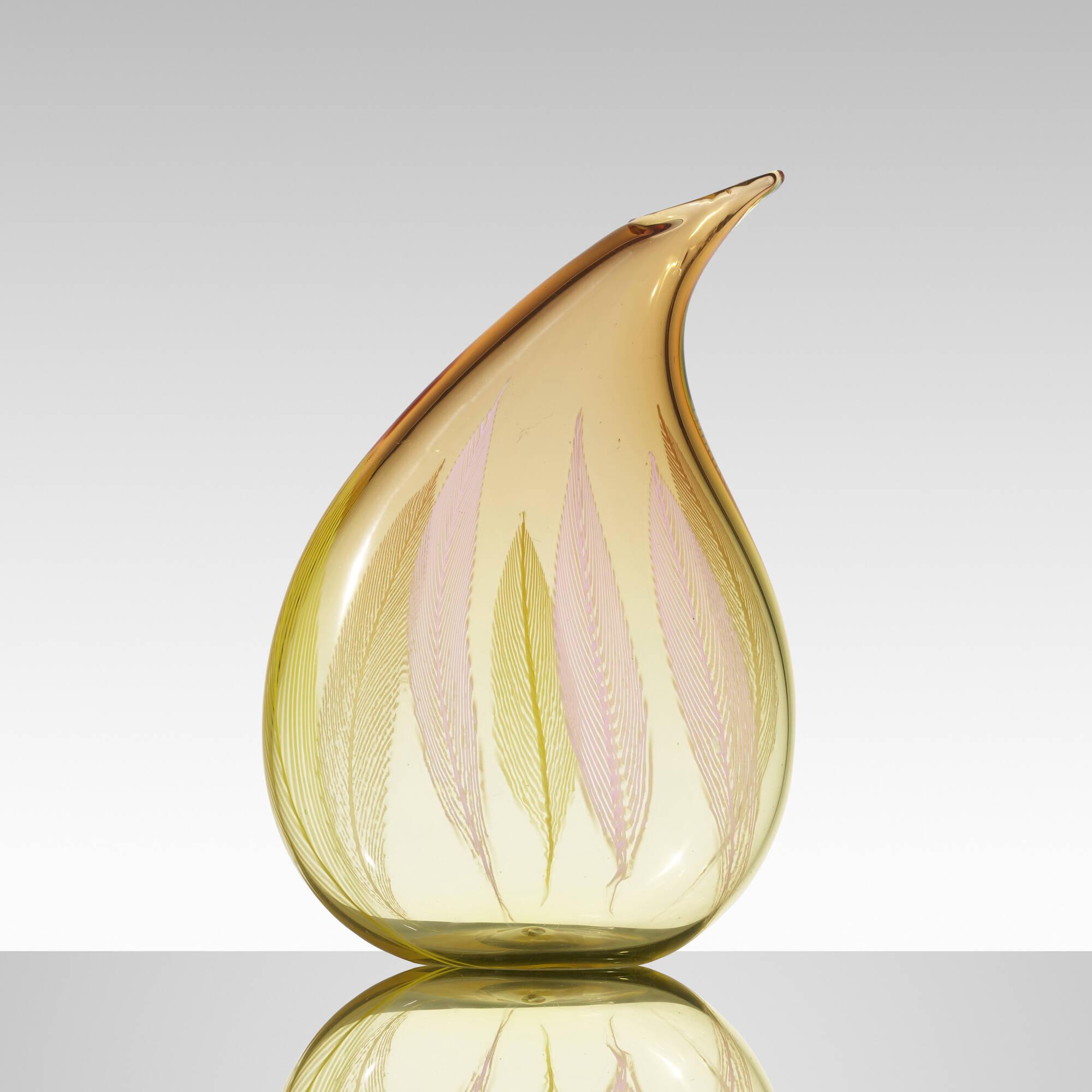 168: Archimede Seguso / A Piume vase (2 of 3)