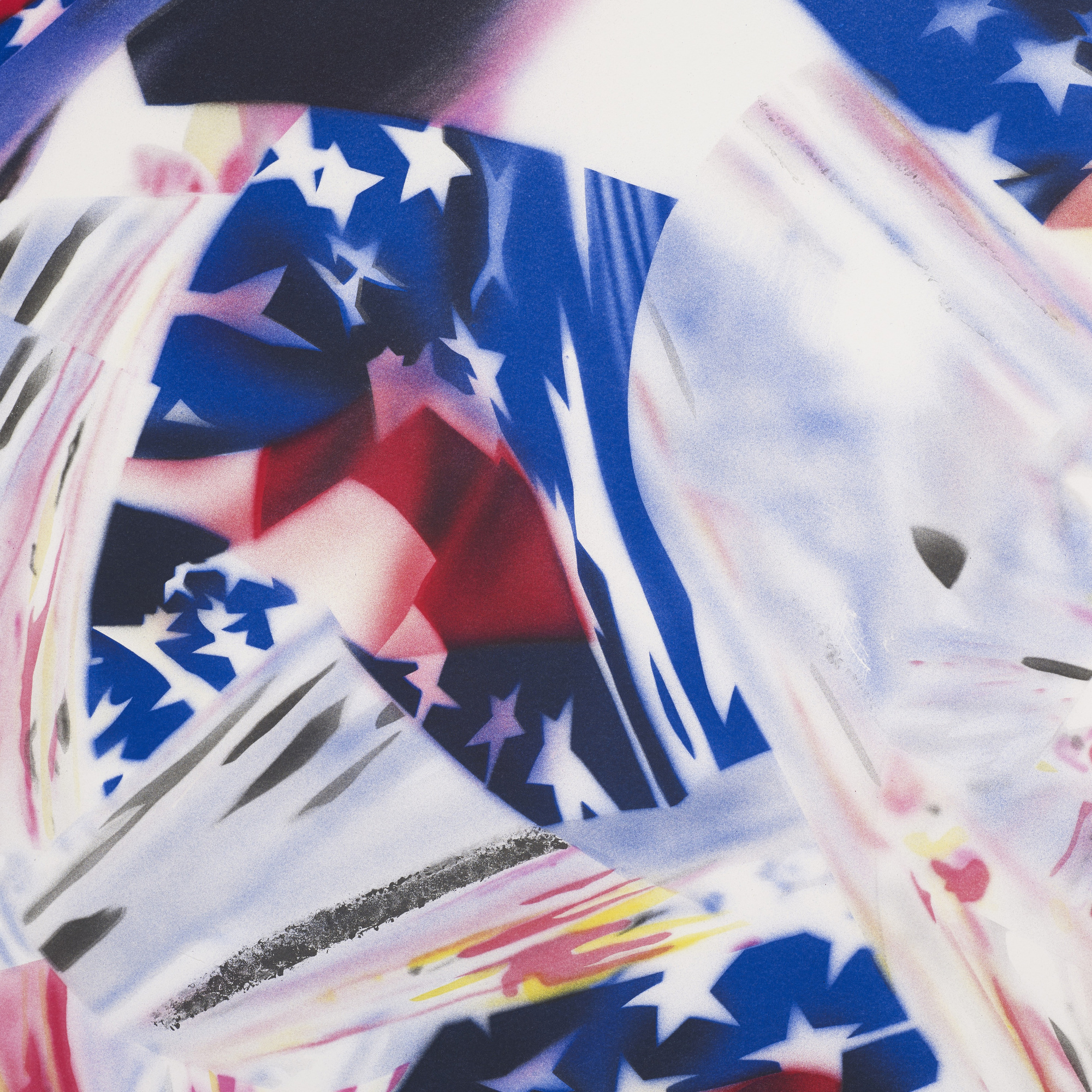 168: James Rosenquist / Stars and Stripes at the Speed of Light (2 of 3)