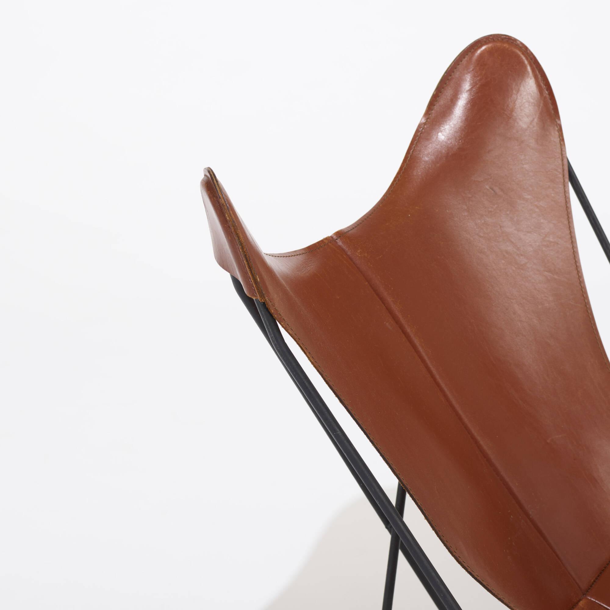 ... 168: Antonio Bonet, Juan Kurchan And Jorge Ferrari Hardoy / Butterfly  Chairs, Pair