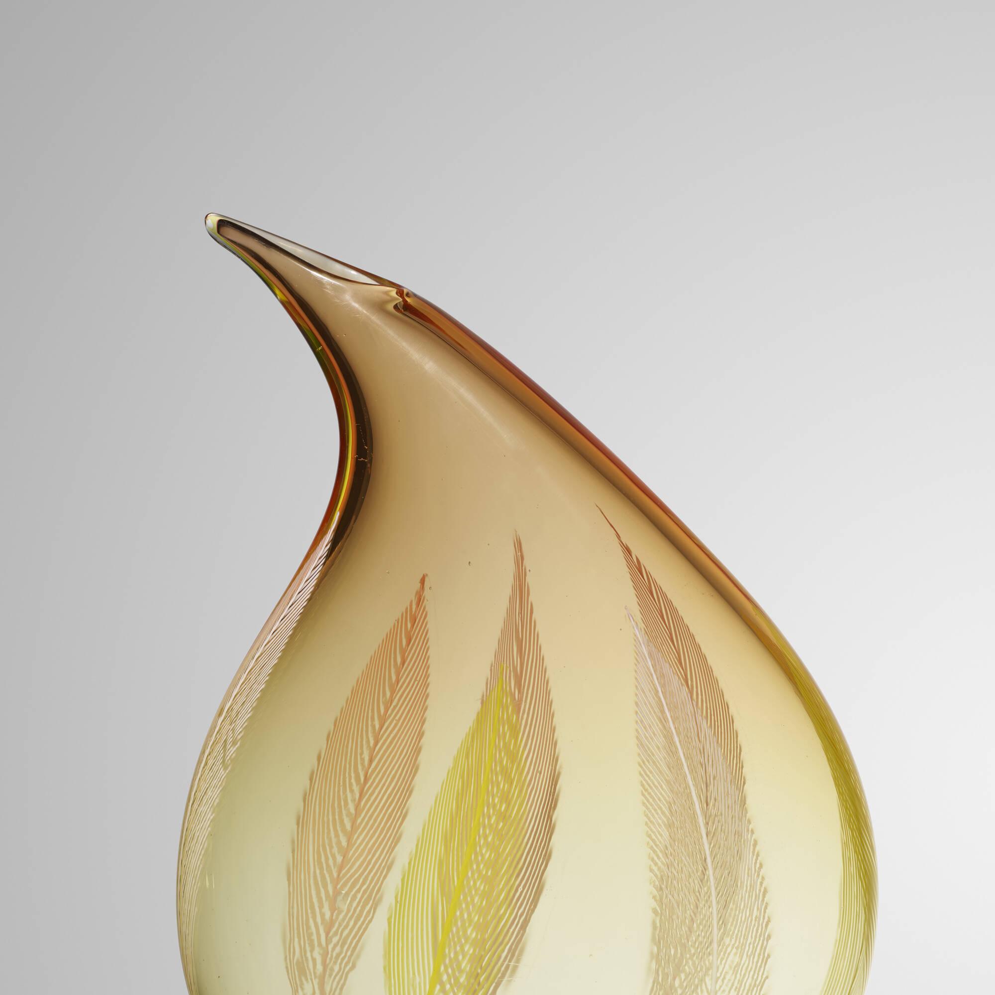 168: Archimede Seguso / A Piume vase (3 of 3)