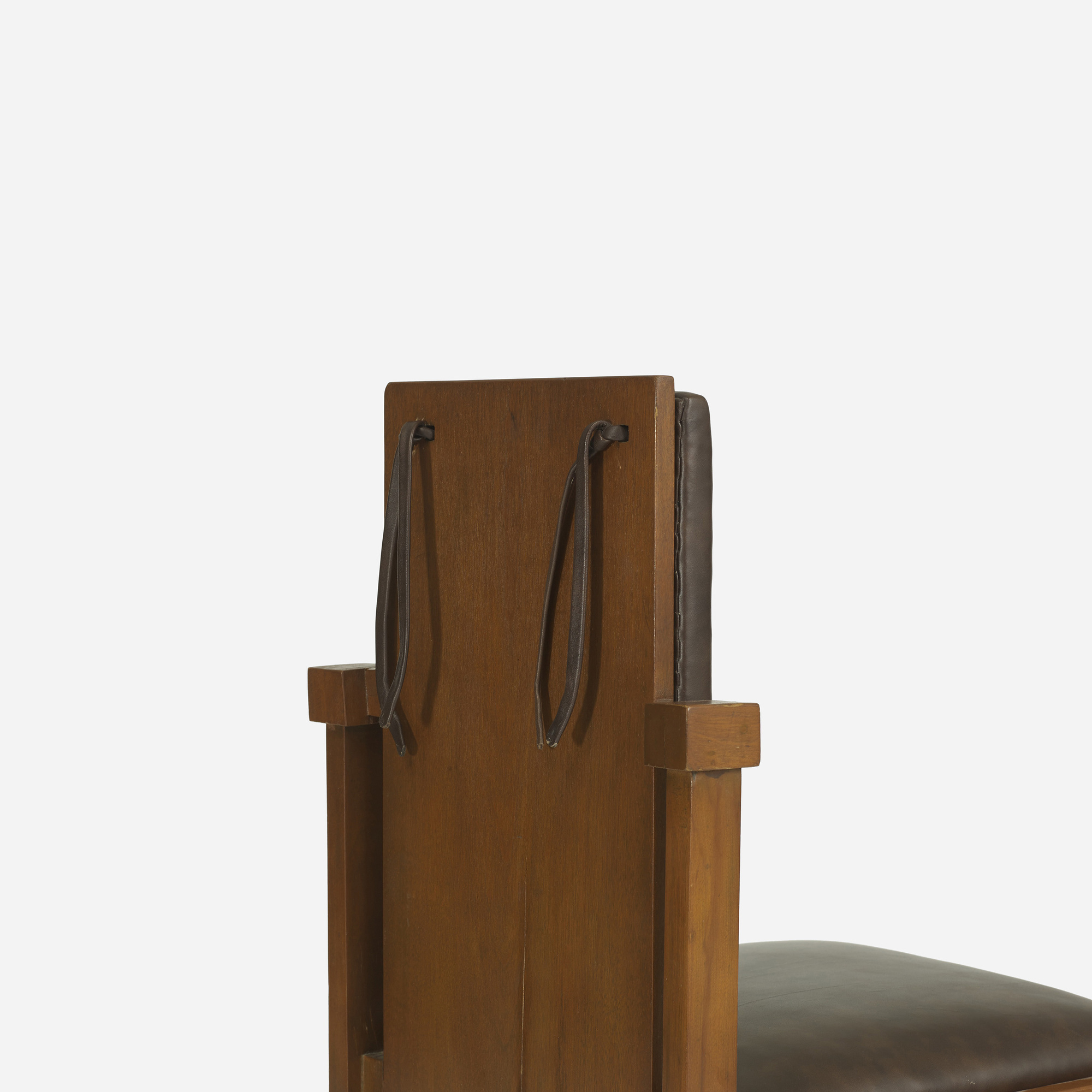 ... 168: Frank Lloyd Wright / Chair From The Avery Coonley Playhouse,  Riverside, Illinois