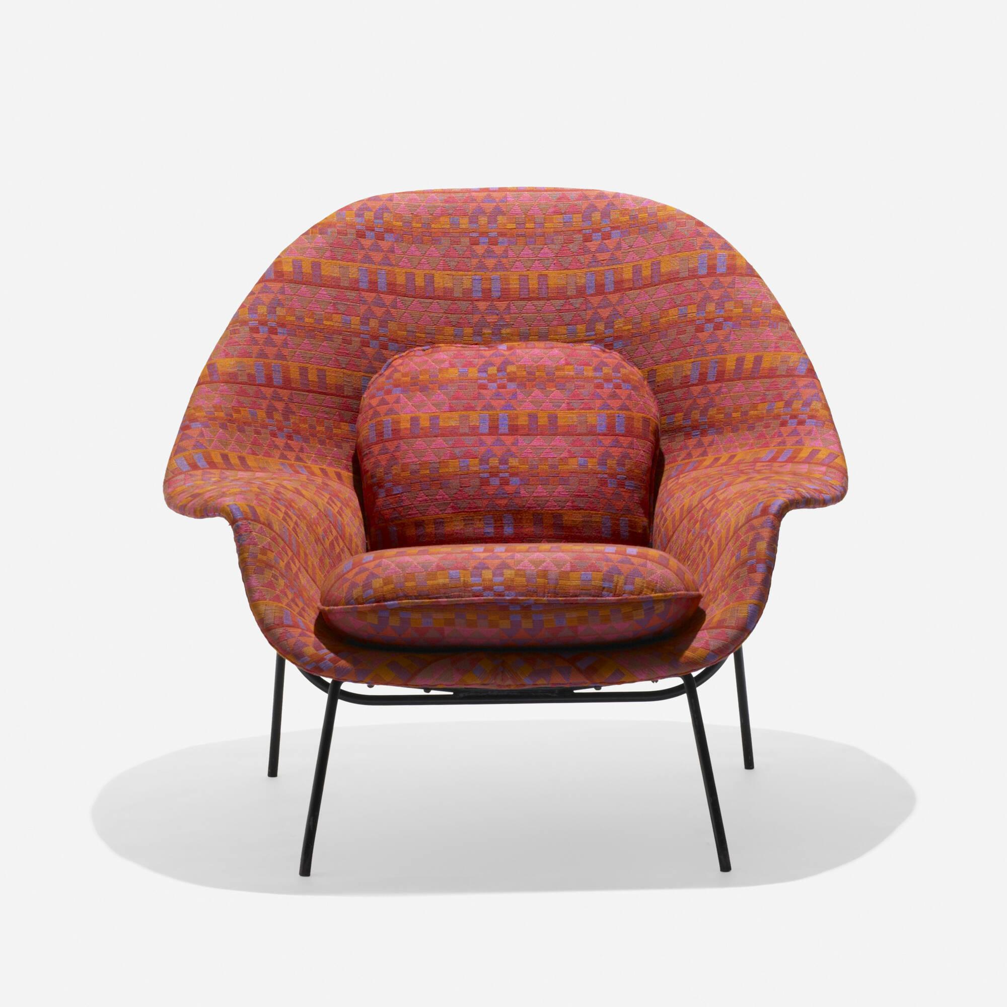 169: Eero Saarinen / Prototype Womb Chair (1 Of 3)