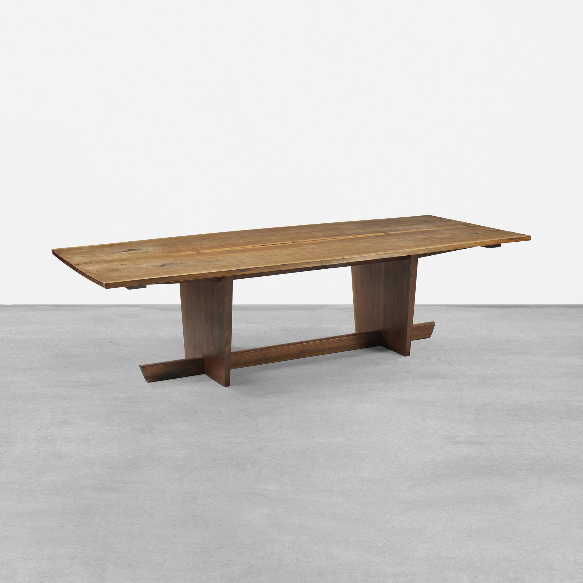 169 mira nakashima minguren ii dining table for Dining table design 2015