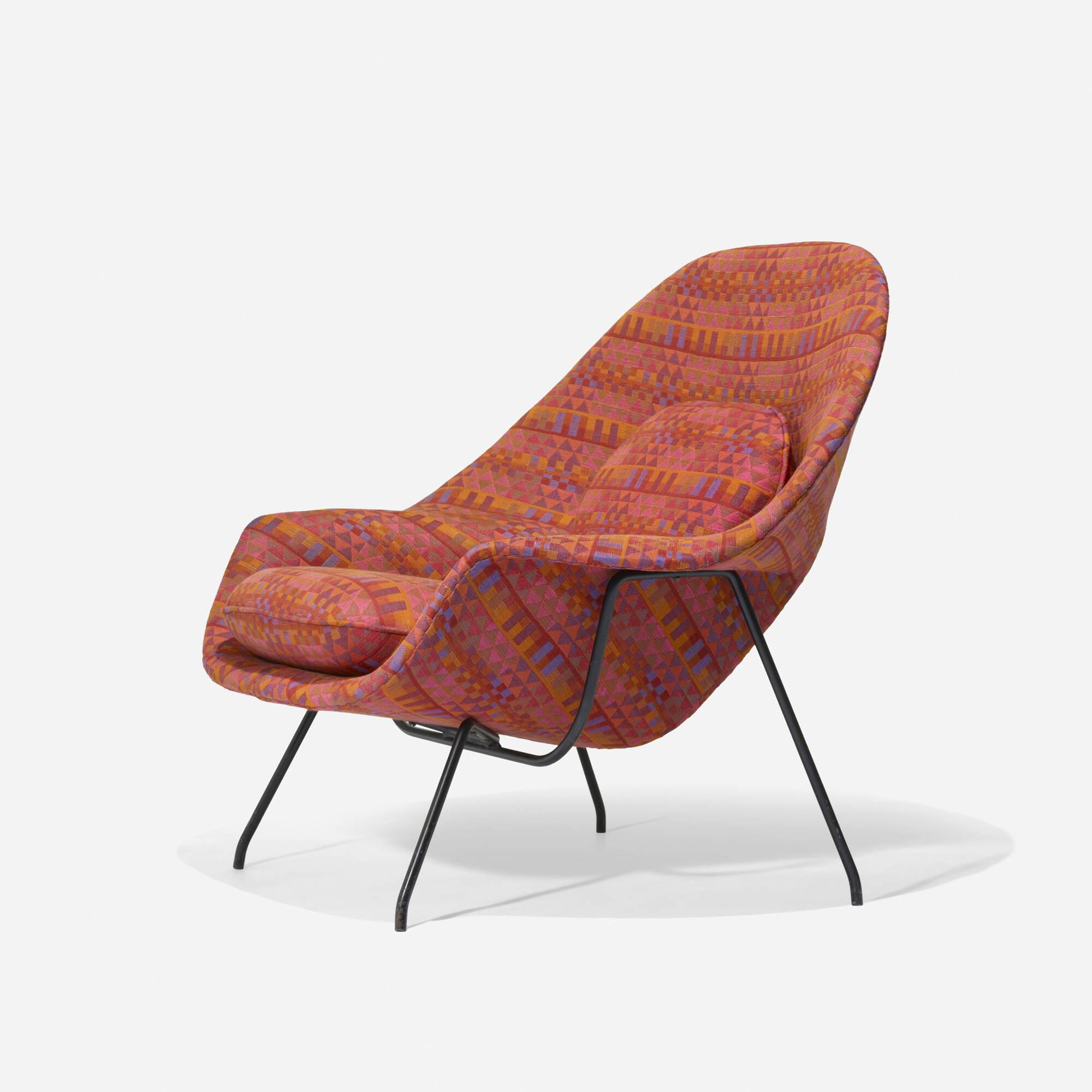 169 Eero Saarinen Prototype Womb Chair 2 Of 3