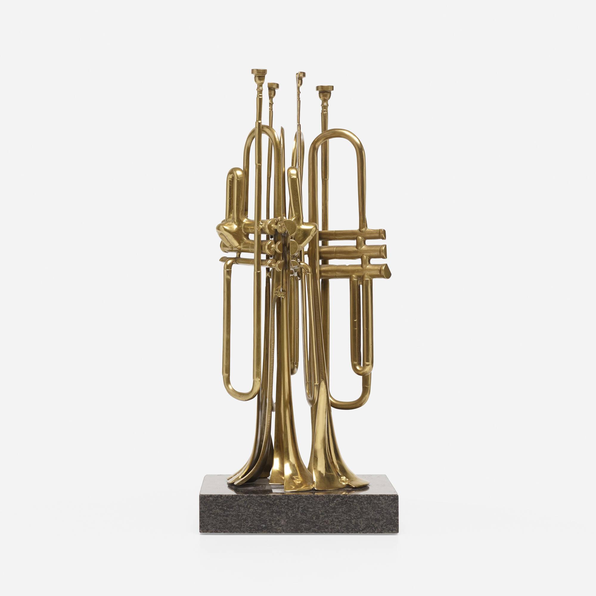 169: Arman / Sliced Trumpets (2 of 3)