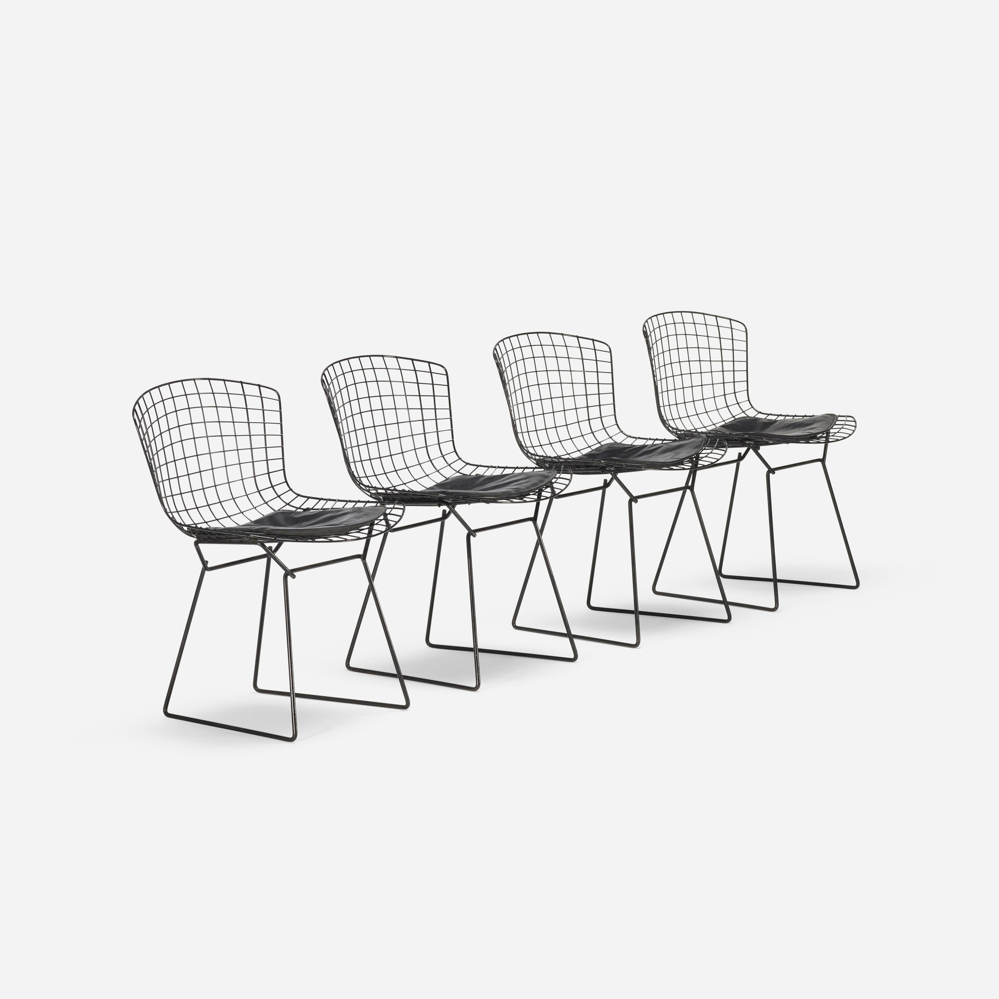 170: Harry Bertoia / dining chairs, set of four (1 of 3)