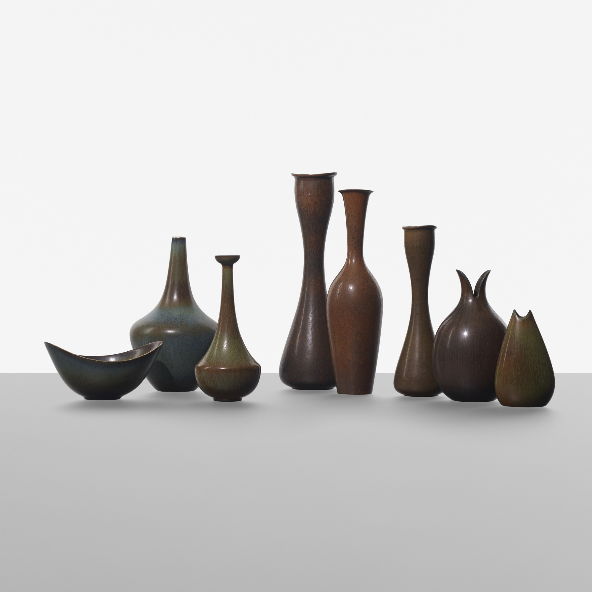 170: Gunnar Nylund / collection of eight vases (1 of 2)