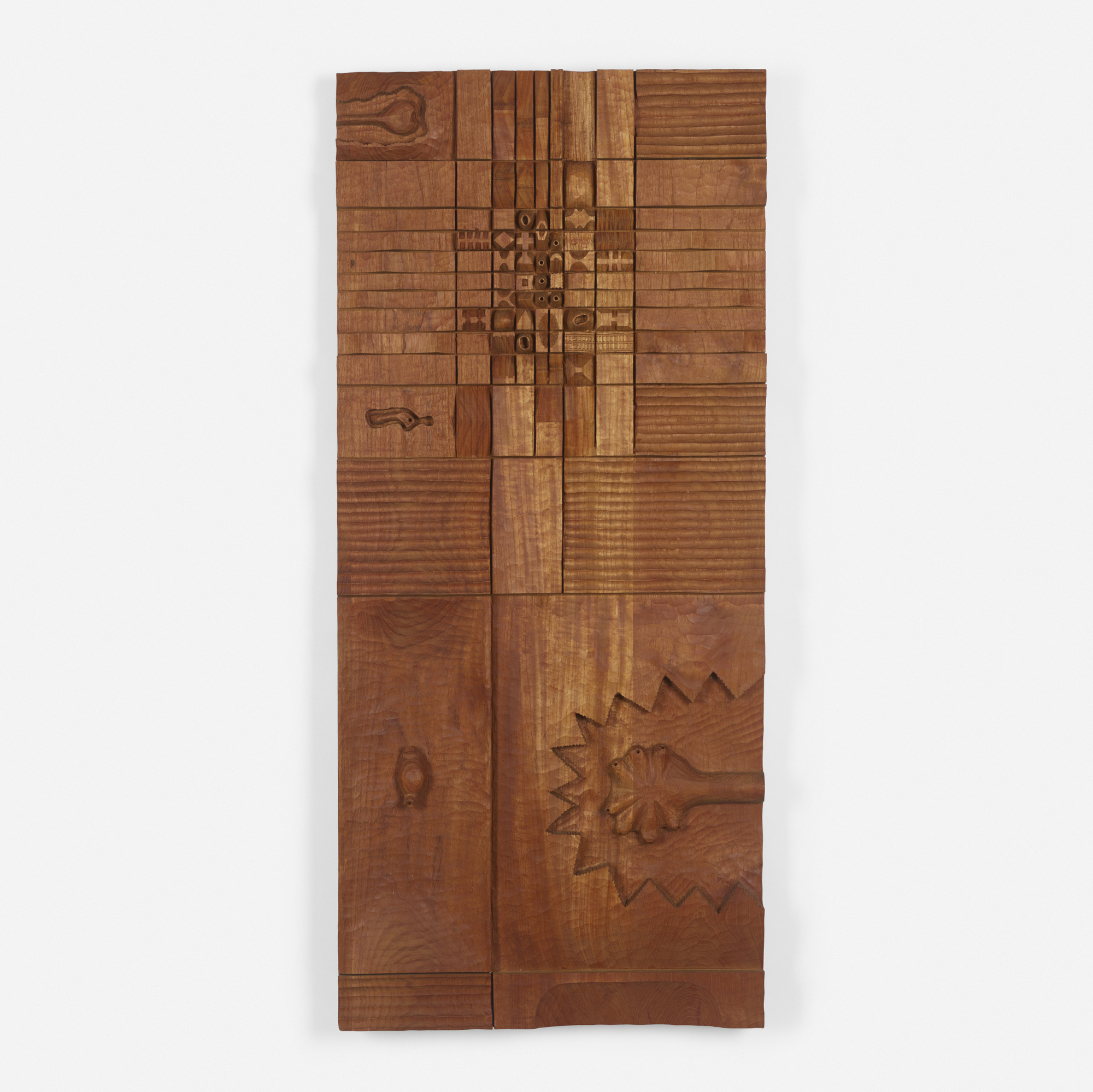 171: Leroy Setziol / Untitled (wood relief) (1 of 2)
