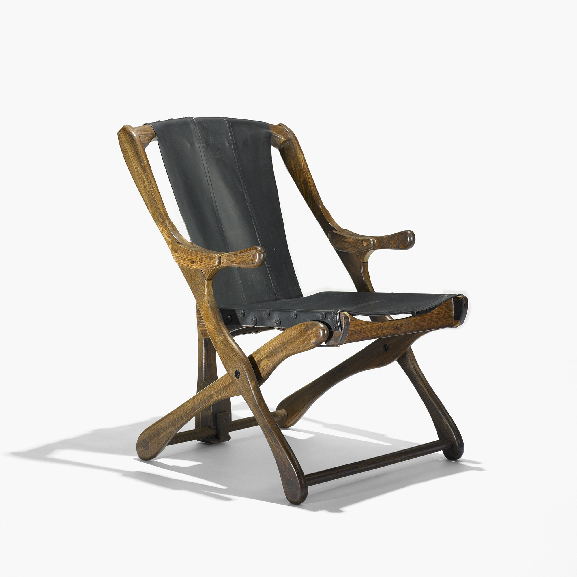 171 Don Shoemaker Folding Lounge Chair Modern Design 23 March 2010 Auctions Wright Auctions Of Art And Design
