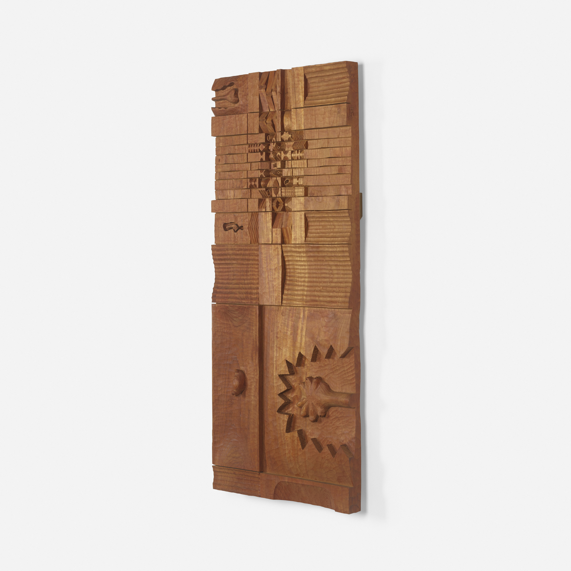 171: Leroy Setziol / Untitled (wood relief) (2 of 2)