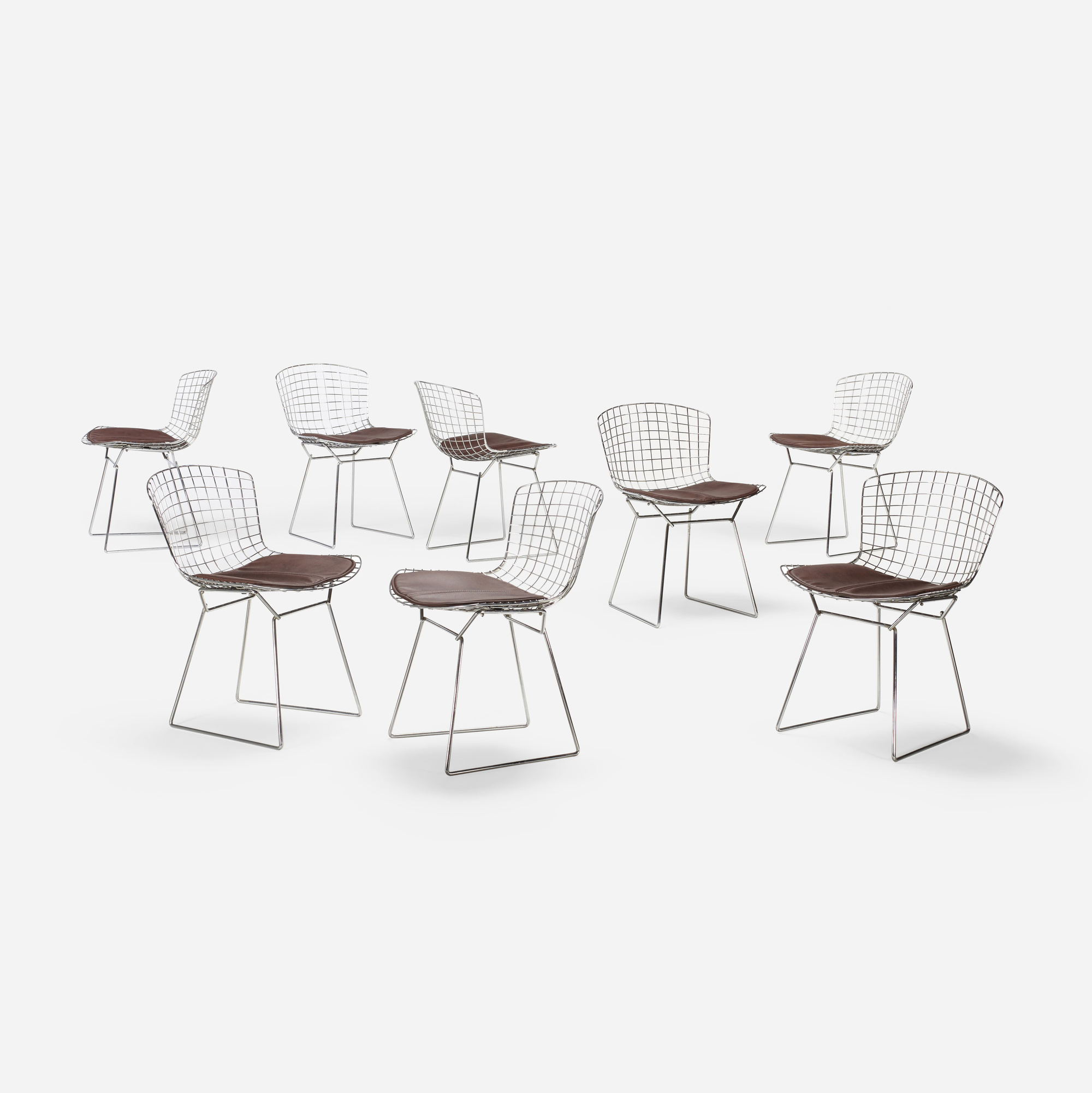 171: Harry Bertoia / dining chairs, set of eight (2 of 3)