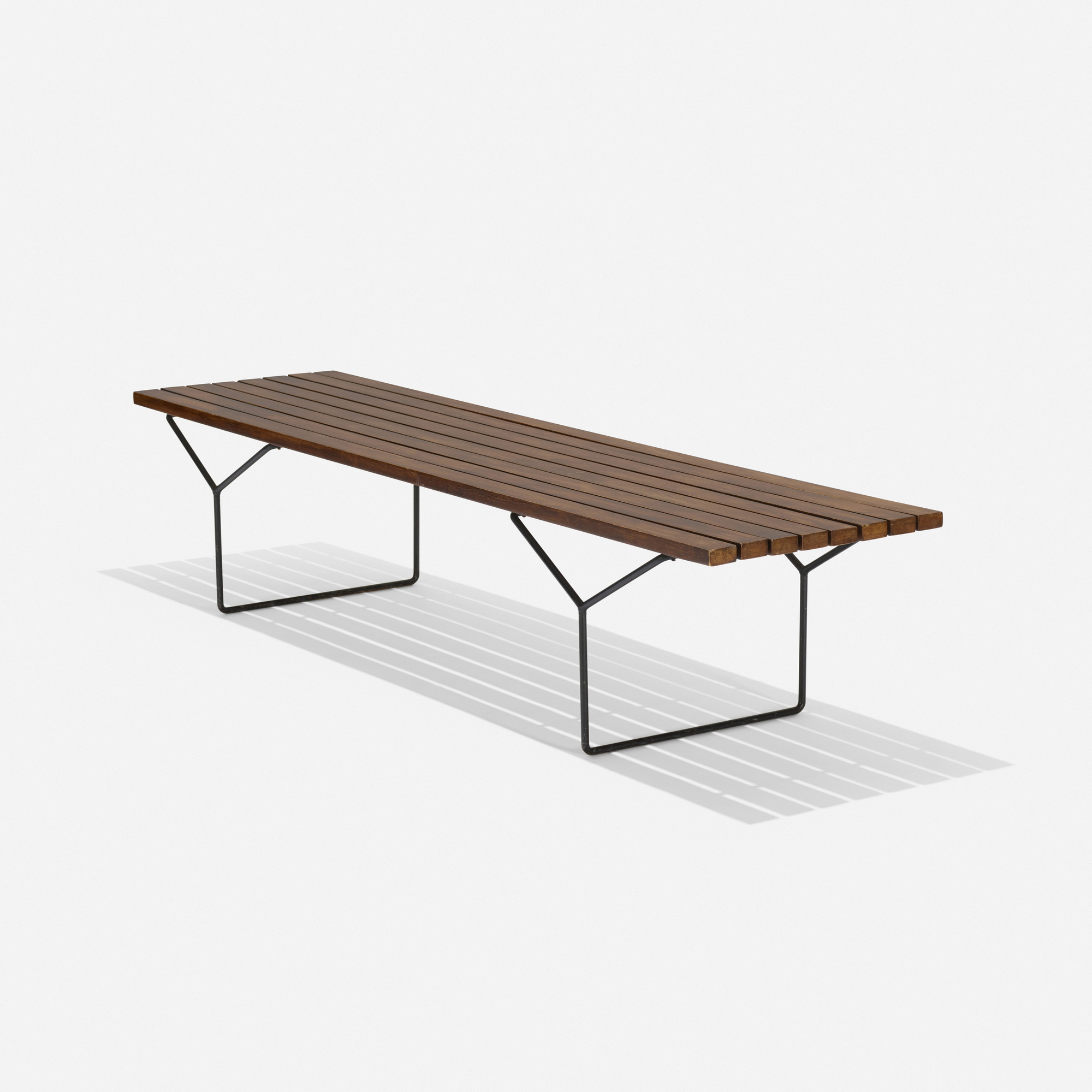 172: Harry Bertoia / slat bench (1 of 3)