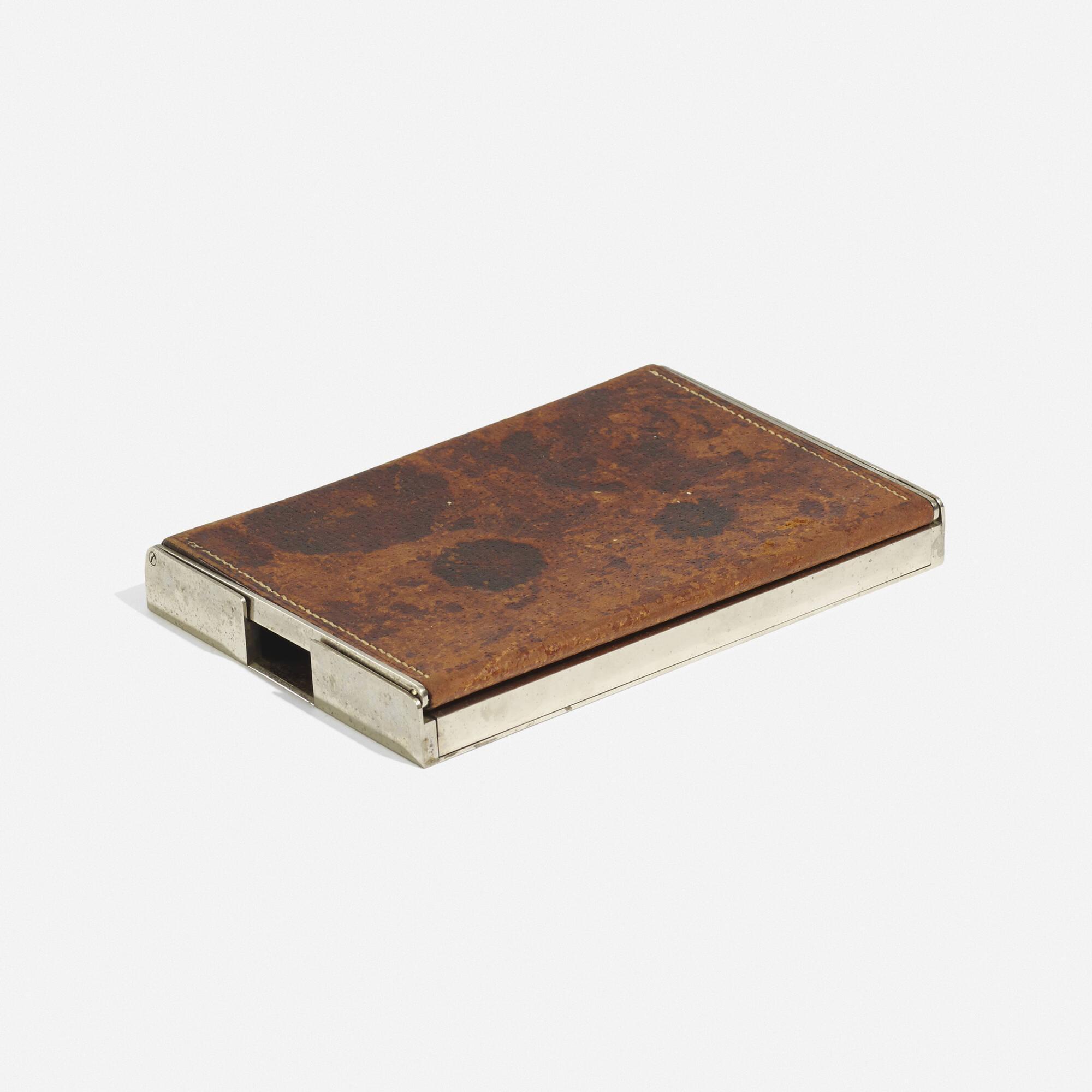 172: Carl Auböck II / early cigarette box (1 of 3)