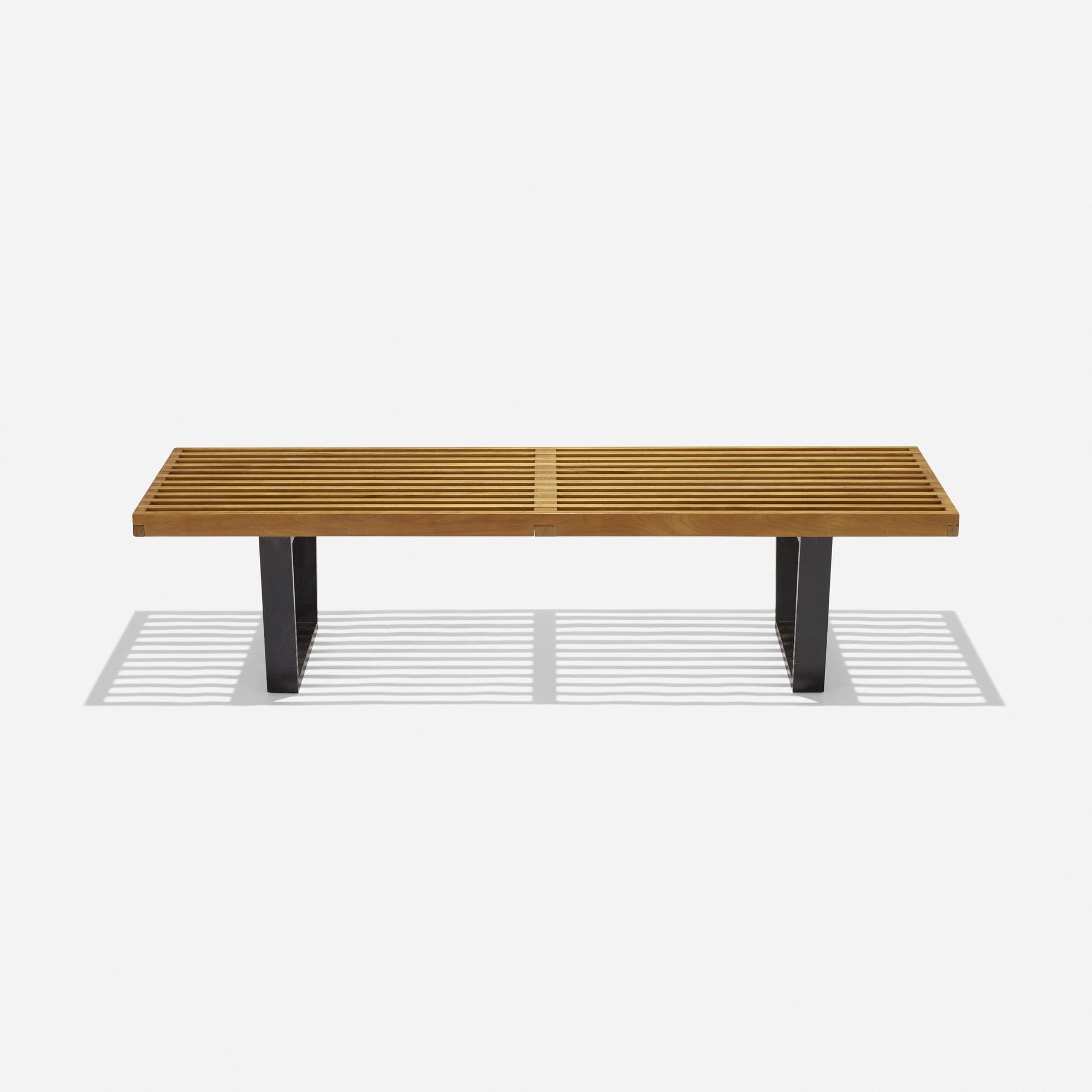 173 George Nelson & Associates slat bench model 4690