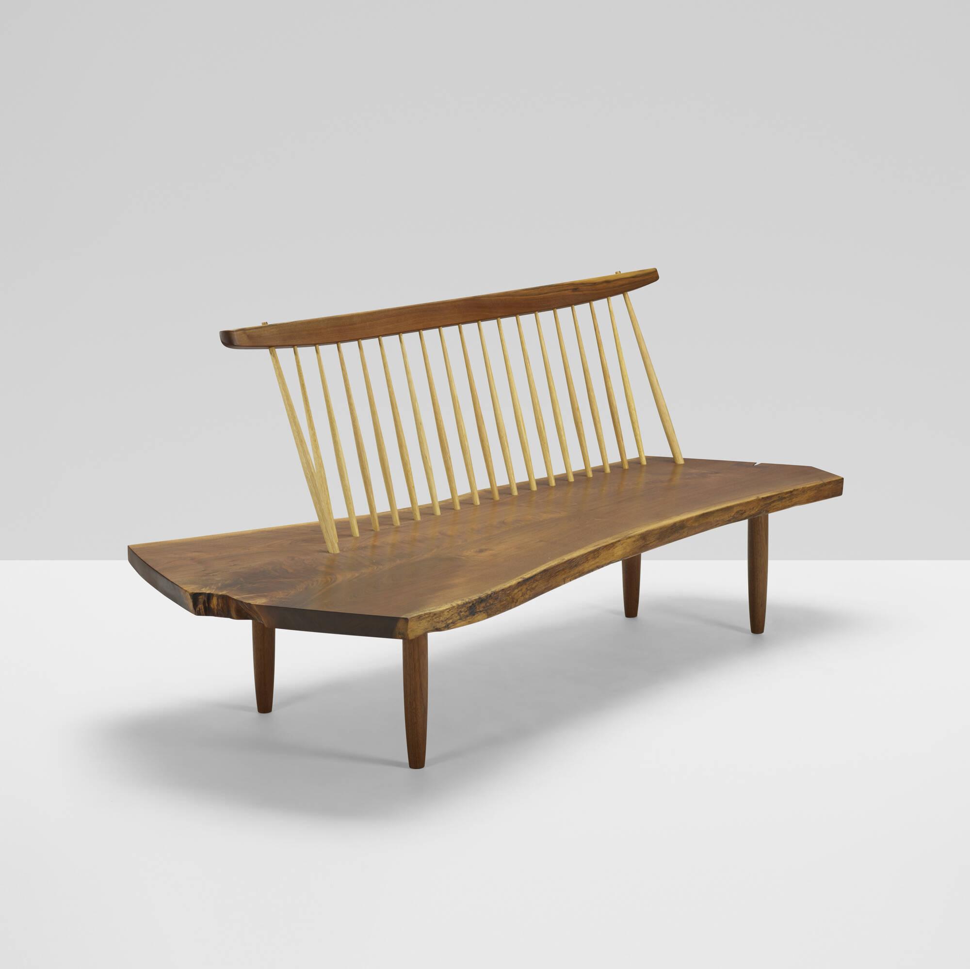 173: Mira Nakashima / Conoid bench (1 of 3)