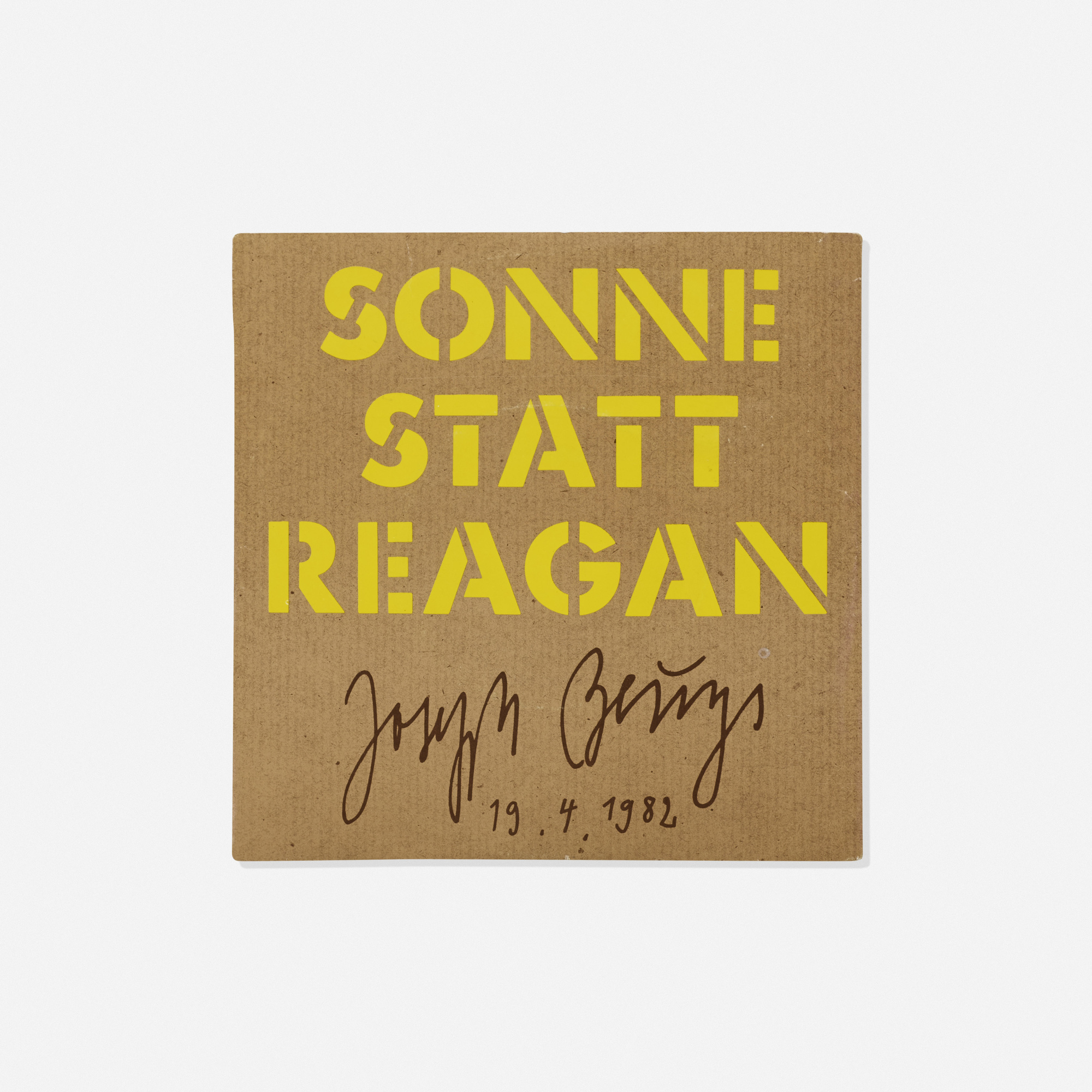 173: Joseph Beuys / Sonne Statt Reagan (1 of 1)