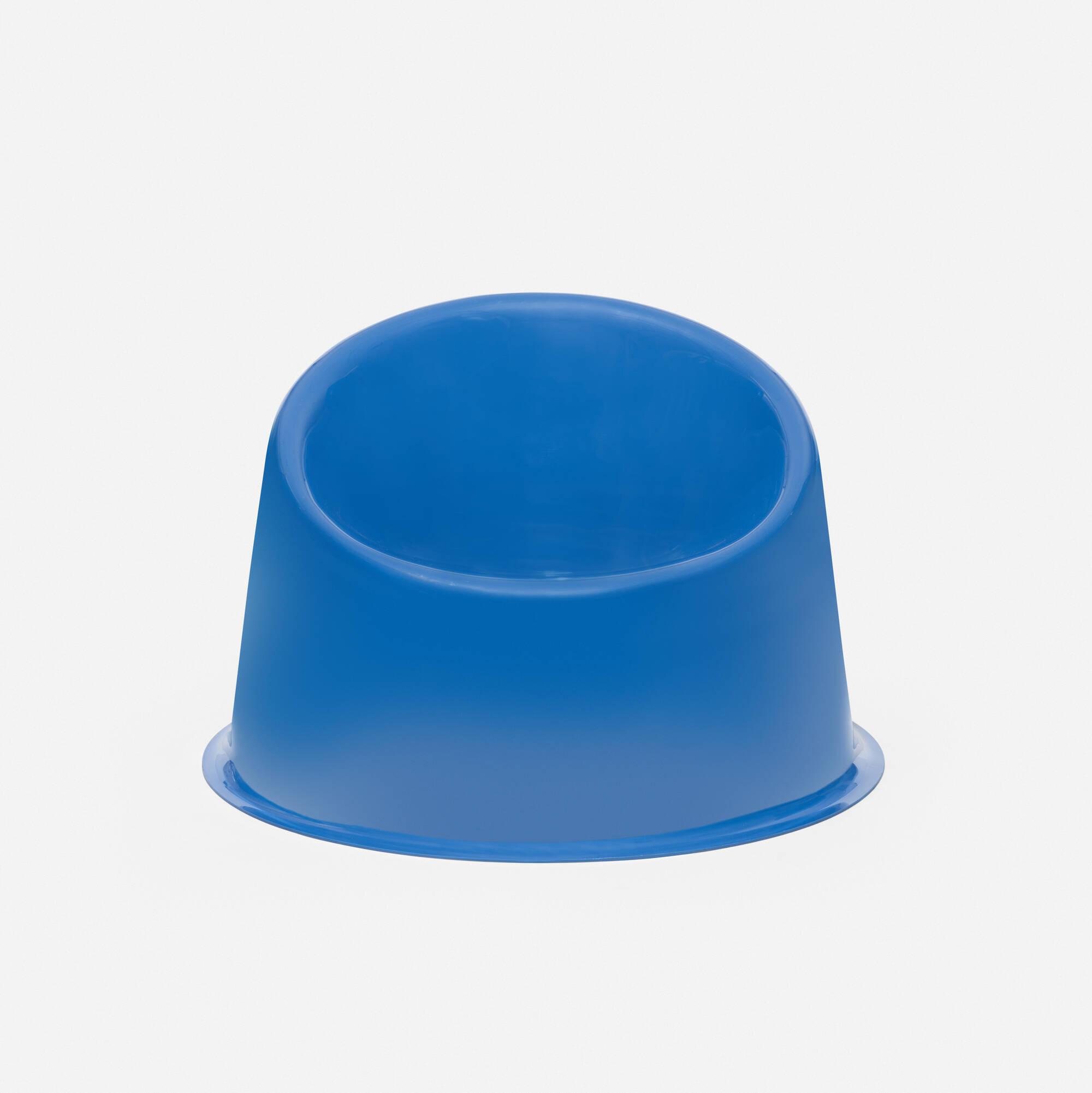 173: Verner Panton / Blue Panto Pop chair (1 of 3)