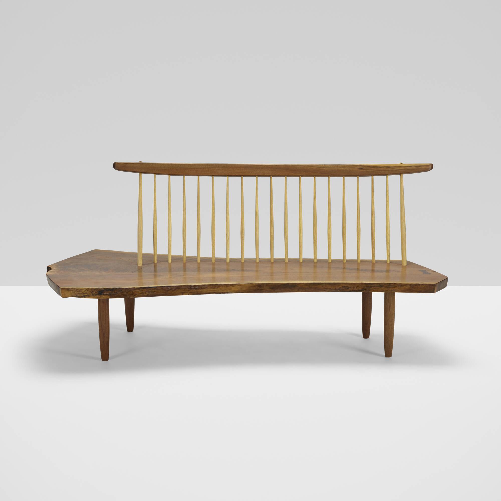 173: Mira Nakashima / Conoid bench (2 of 3)