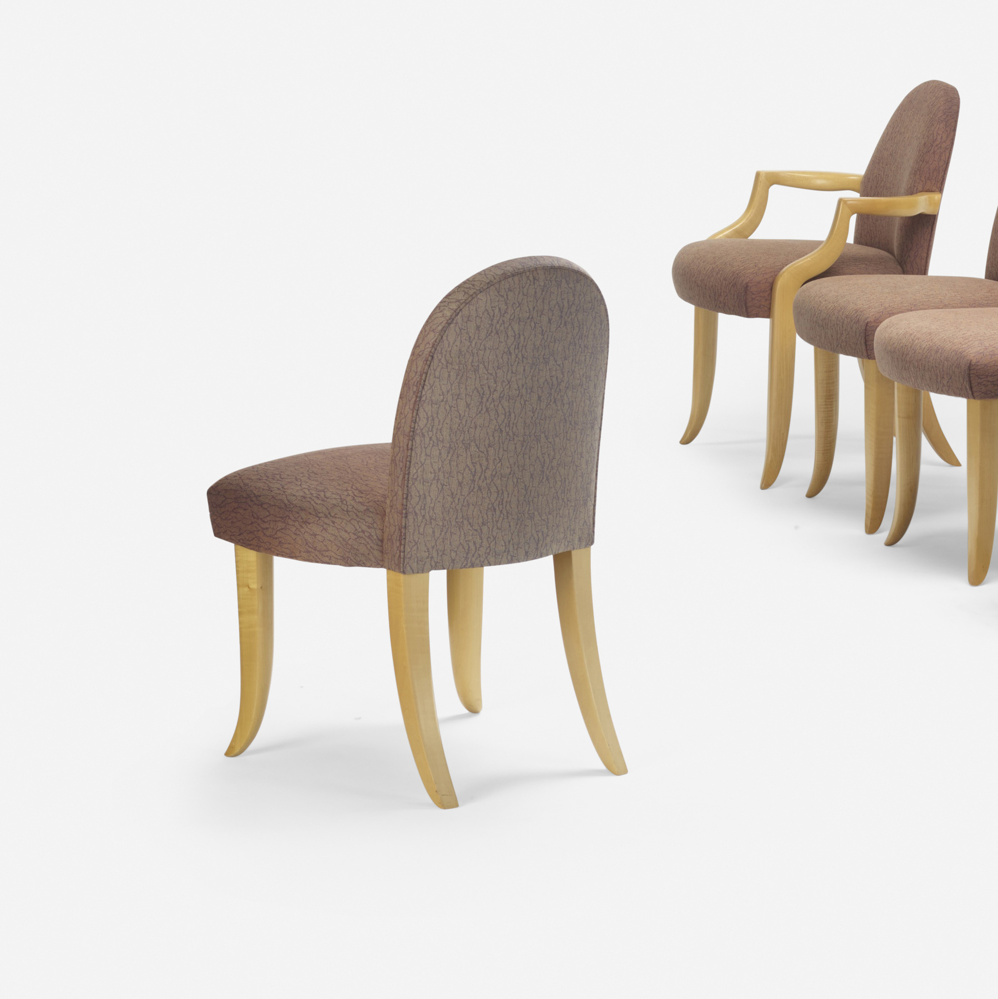173: Wendell Castle / dining chairs, set of eight (2 of 2)