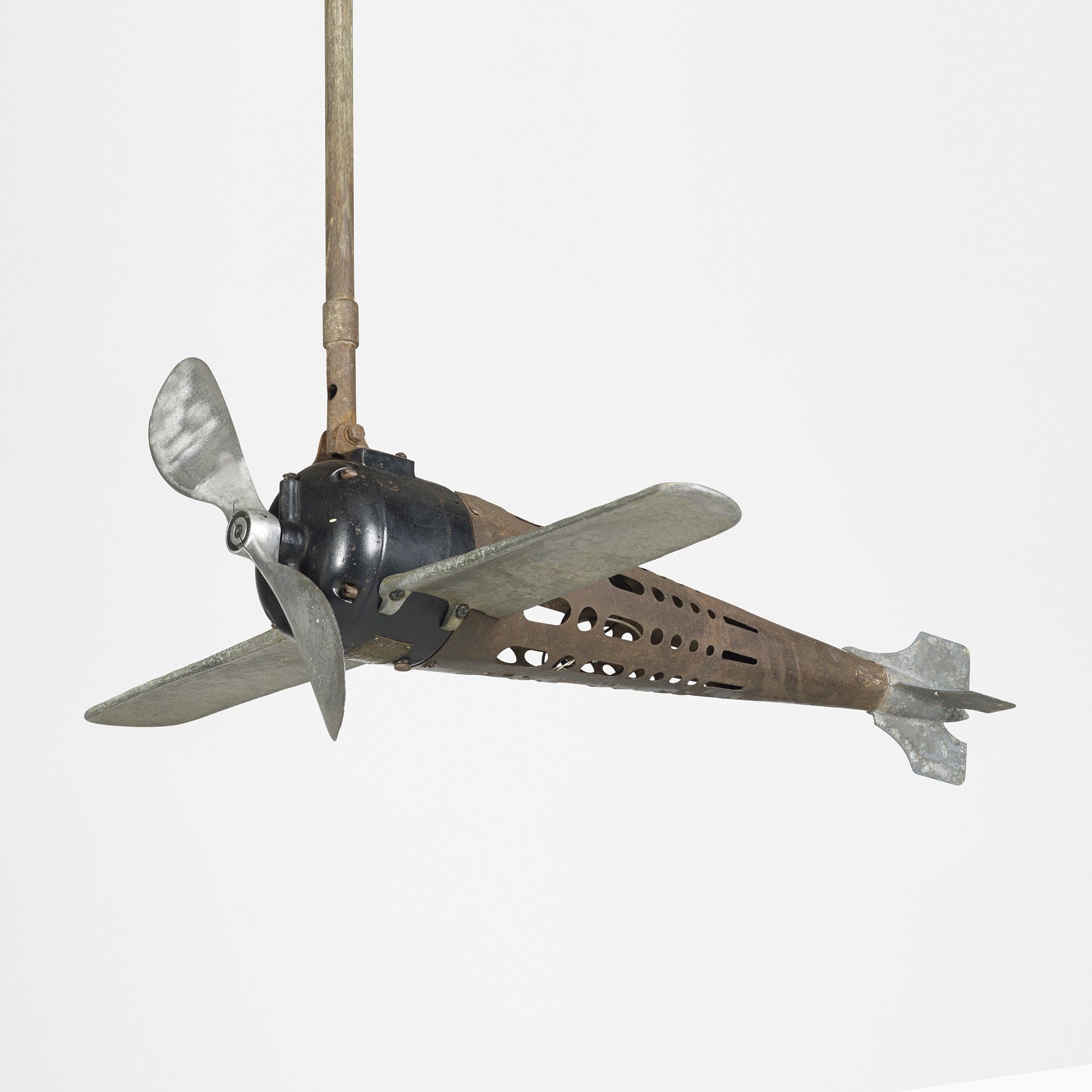 174: the aircraft mfg. co., fan-o-plane ceiling fan < design, 17