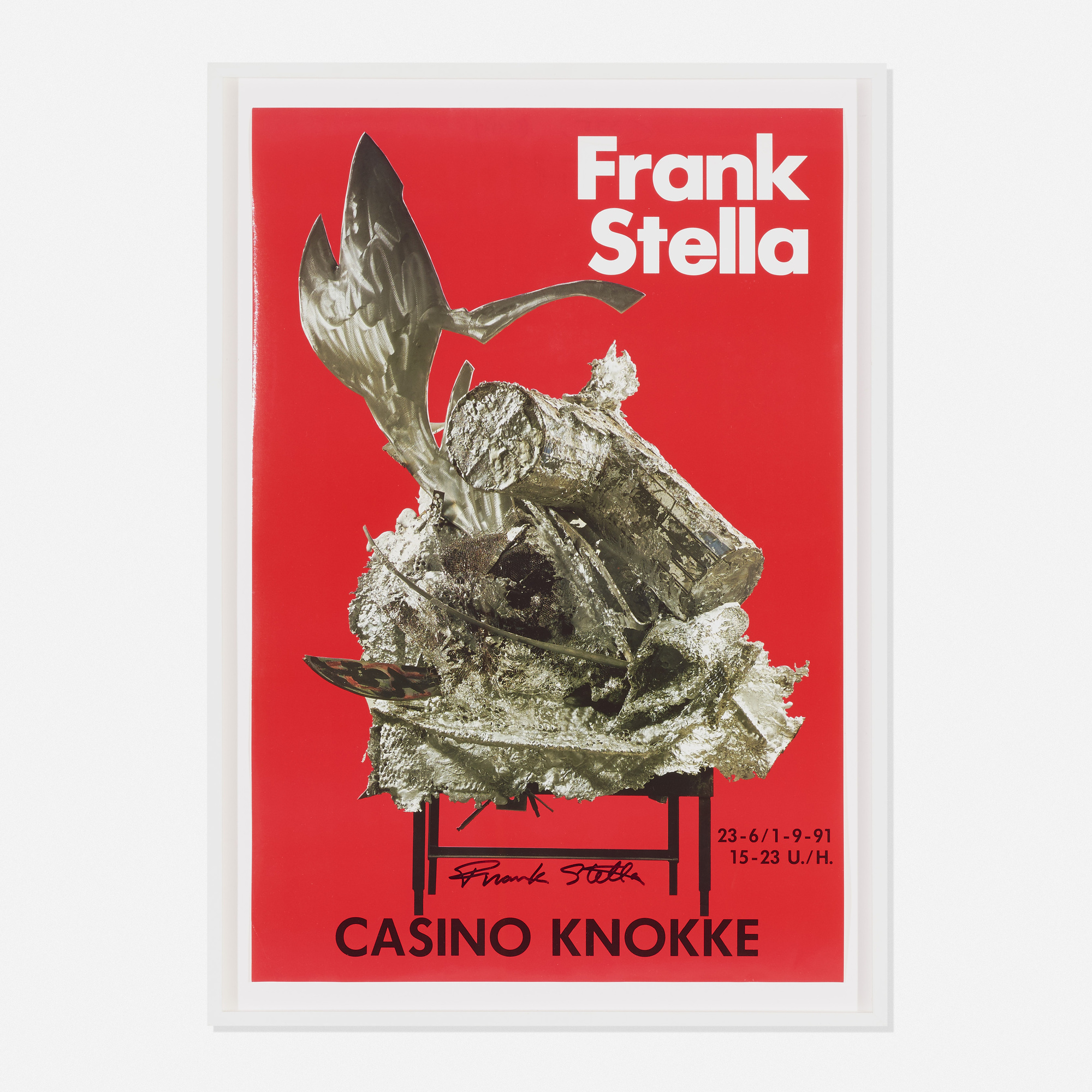 174: After Frank Stella / Untitled (poster for residences at the Knokke Casino, Belgium) (1 of 1)