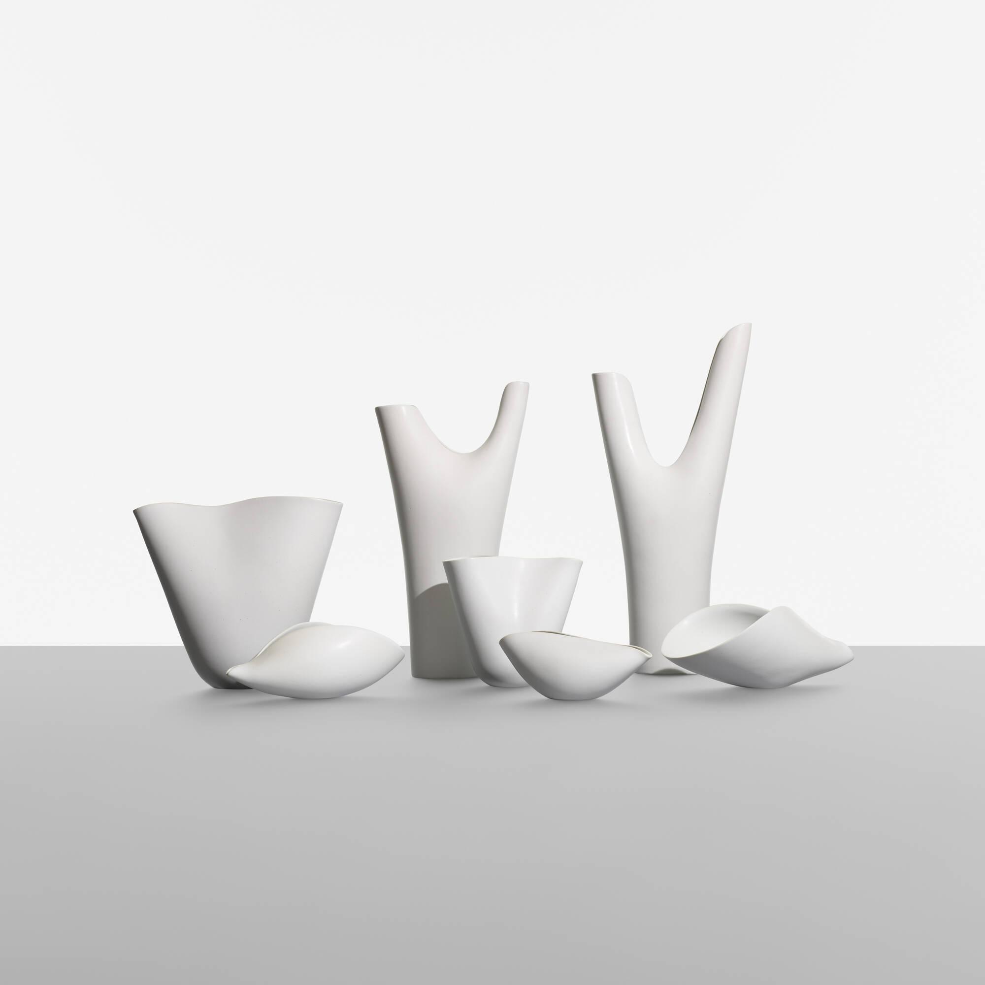 174: Stig Lindberg / collection of seven Veckla vessels (1 of 3)