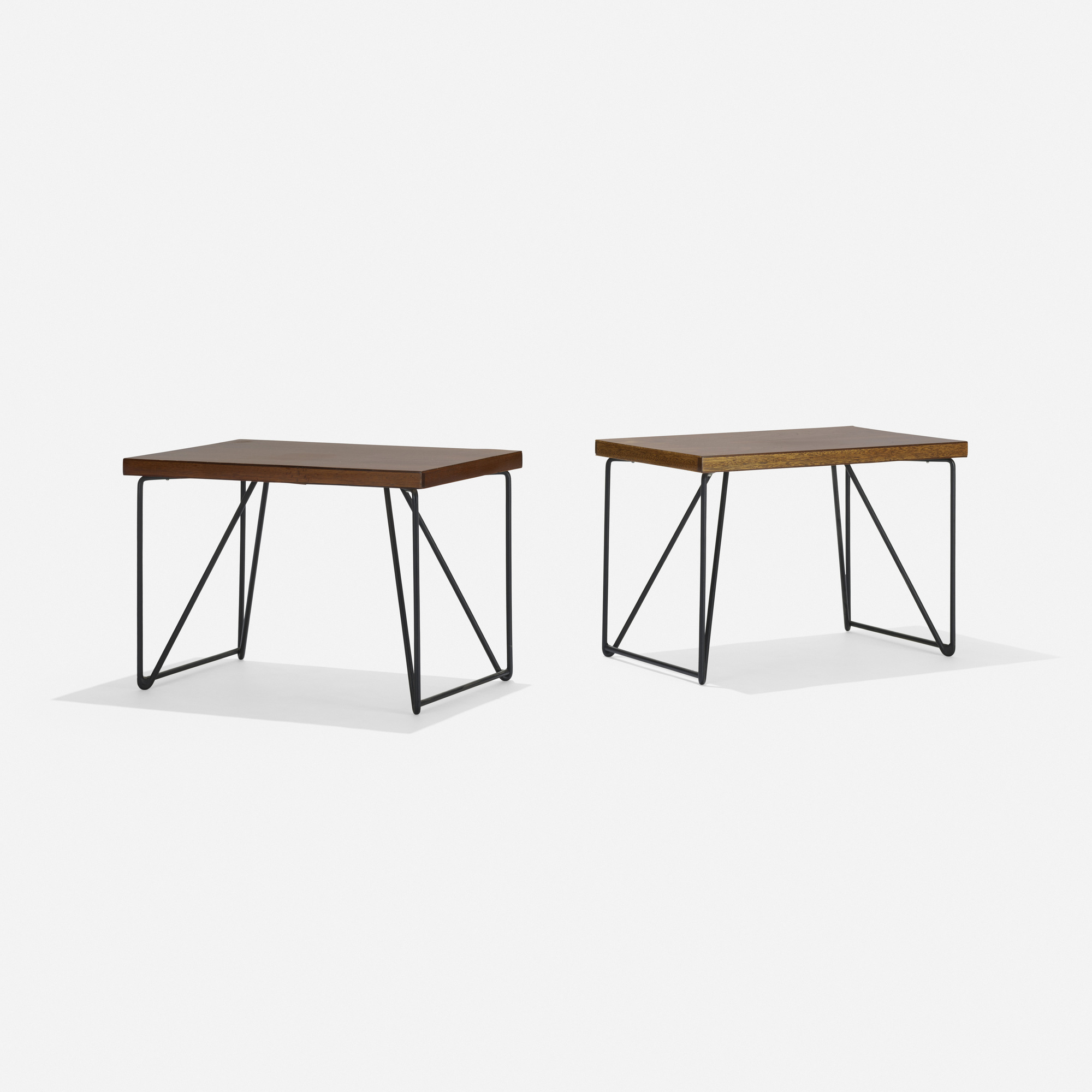 175: Luther Conover / occasional tables, pair (1 of 2)