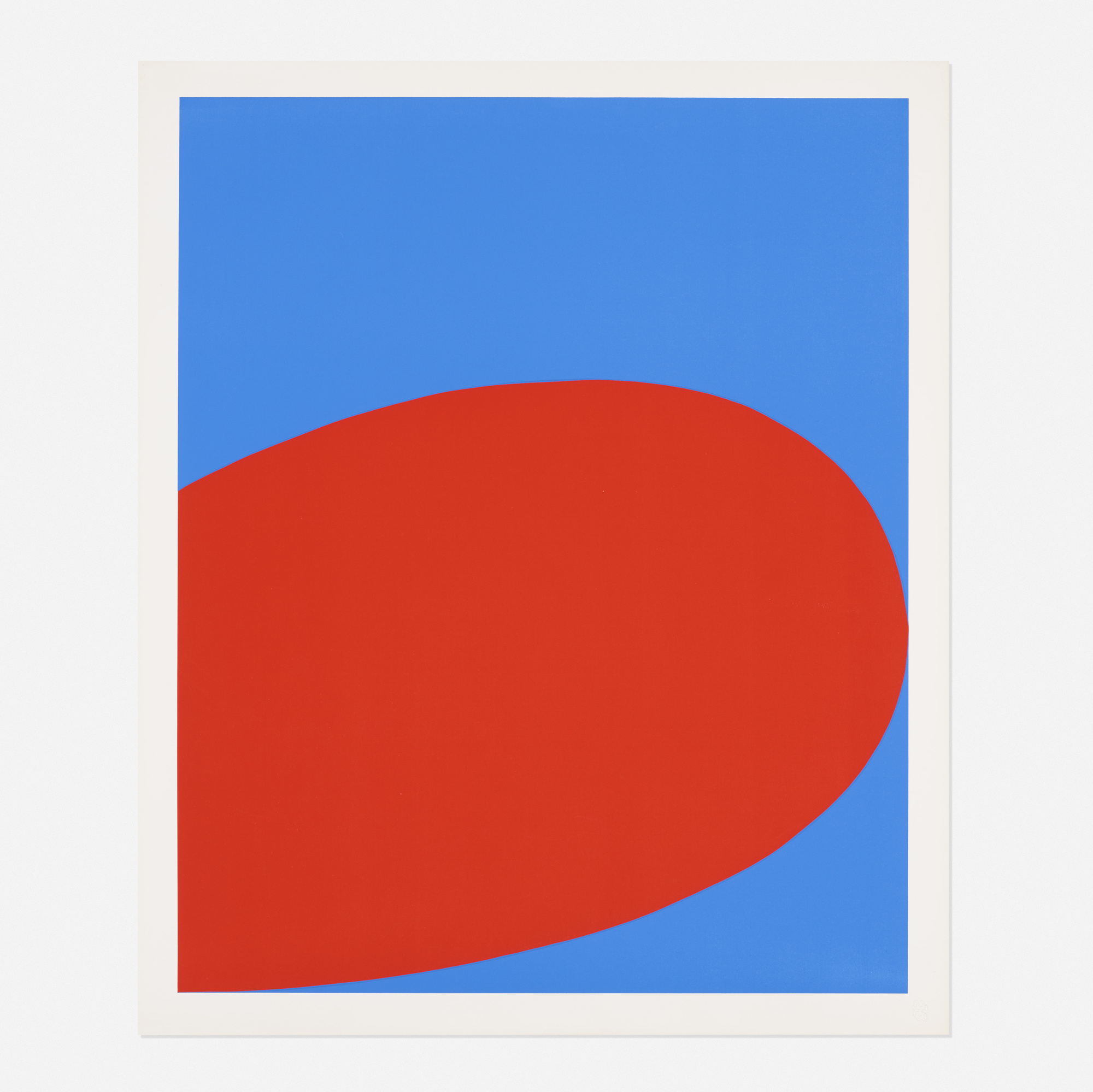 175: Ellsworth Kelly / Red Blue (from the Ten Works x Ten Painters portfolio) (1 of 1)