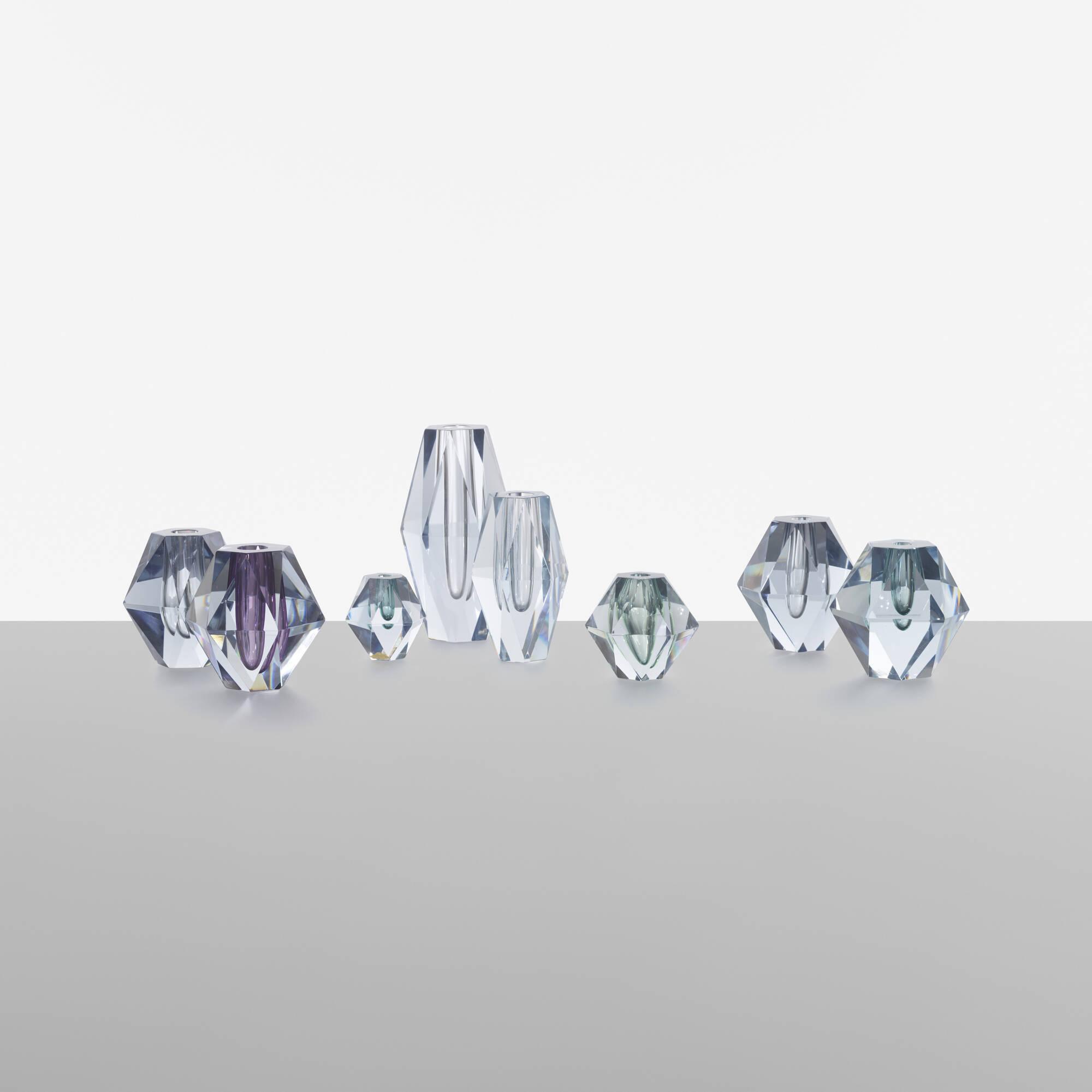 175: Asta Strömberg / collection of eight Diamond vases (1 of 4)