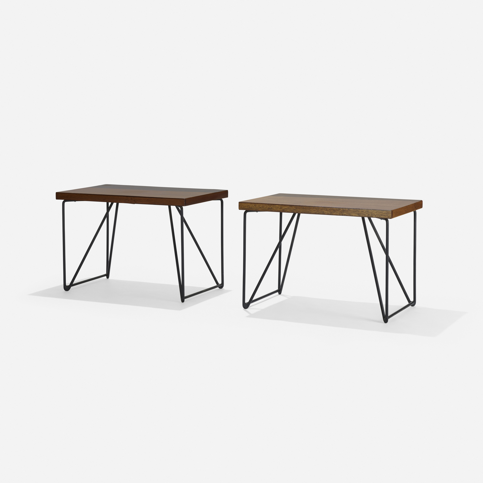 175: Luther Conover / occasional tables, pair (2 of 2)